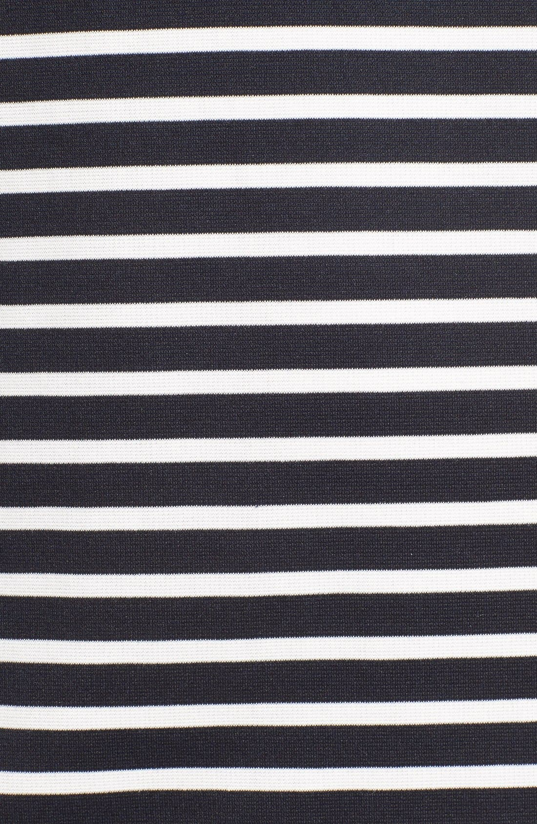 Alternate Image 5  - Missguided Stripe Short Sleeve Shift Dress
