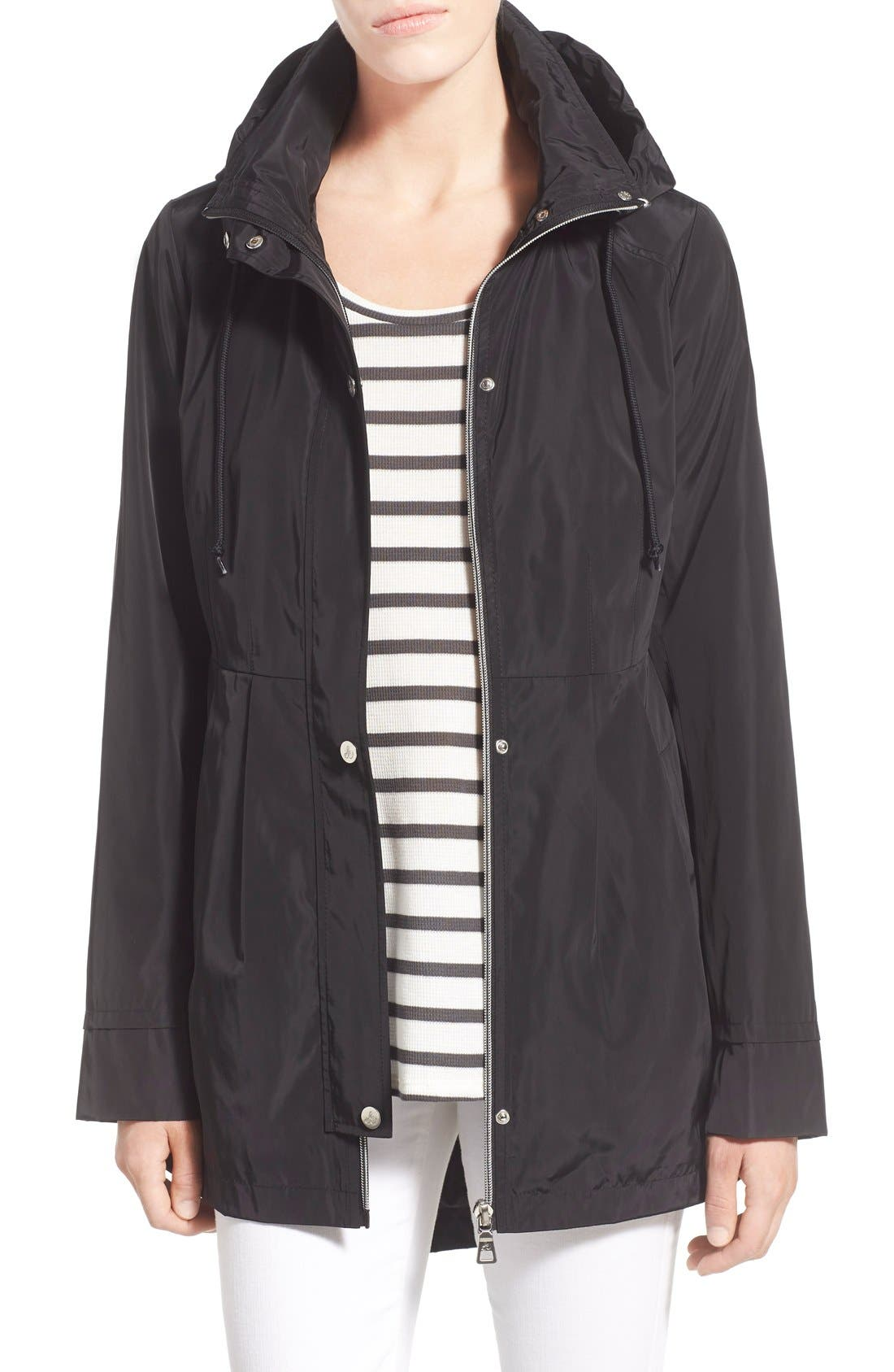 Alternate Image 1 Selected - Sam Edelman Hooded Drop Tail Utility Jacket