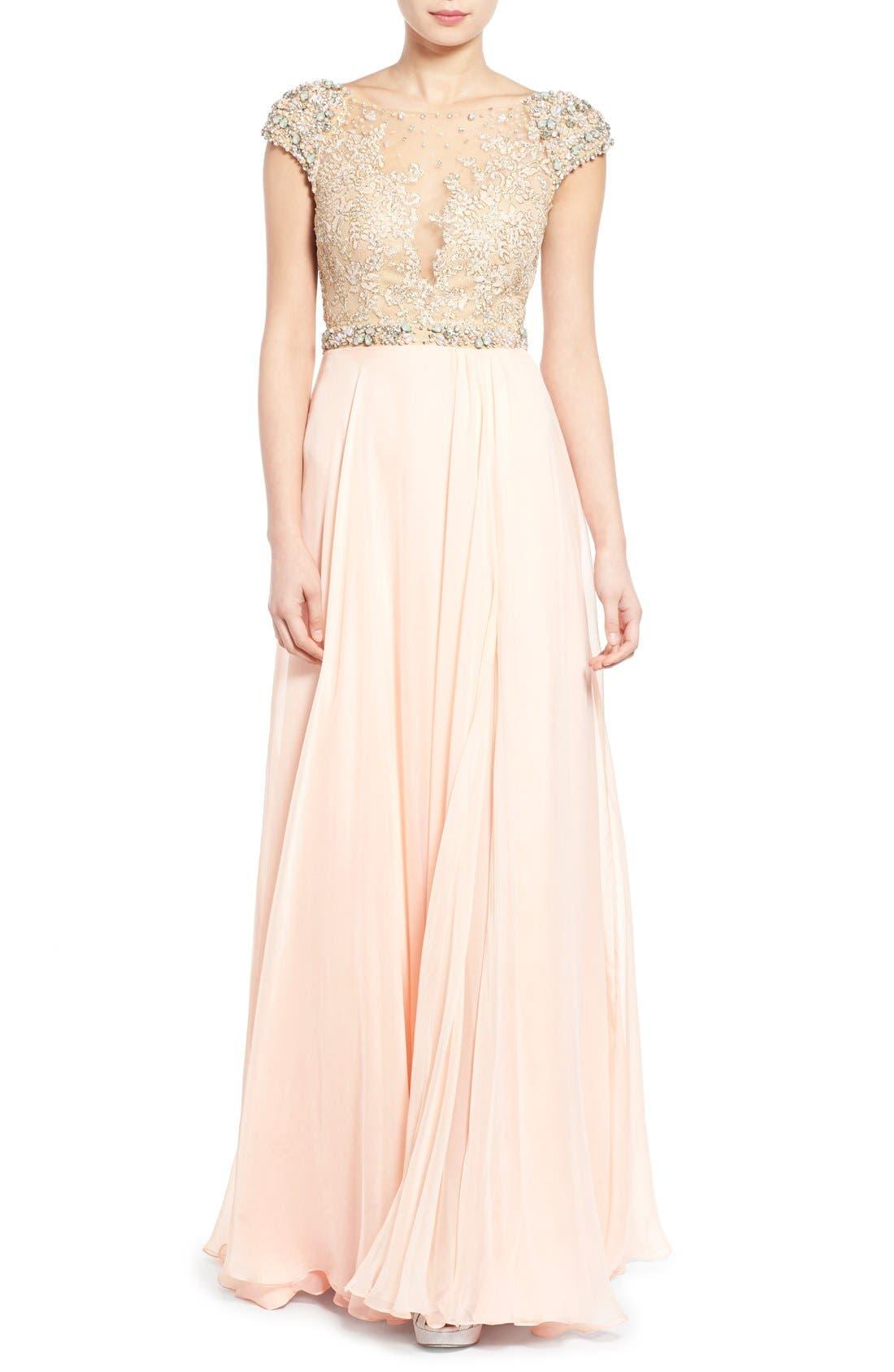 Alternate Image 1 Selected - Mac Duggal 'Gladys' Embellished Gown