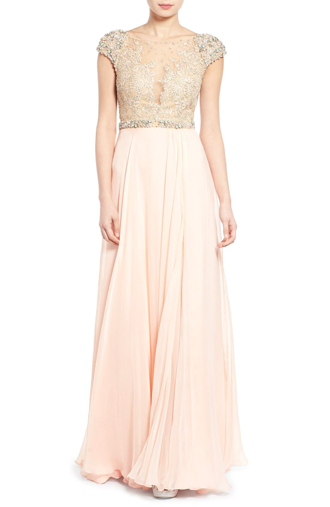 Main Image - Mac Duggal 'Gladys' Embellished Gown