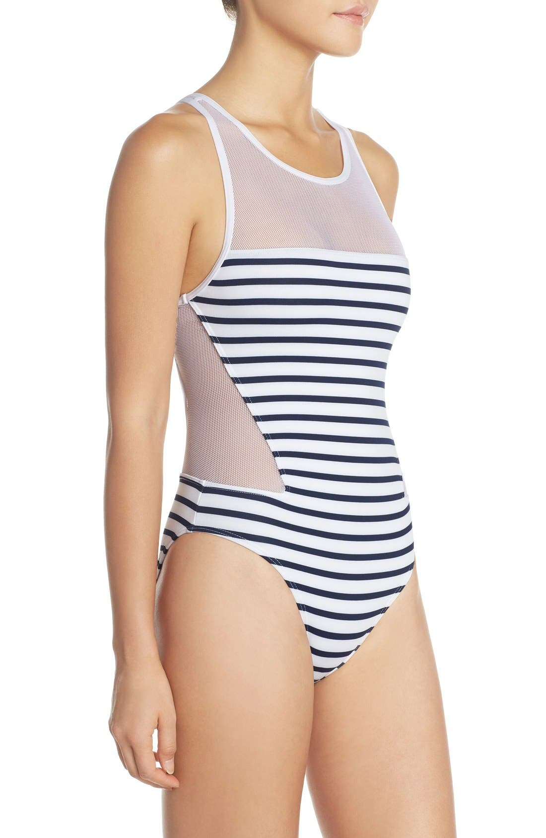 Alternate Image 3  - Vince Camuto 'Shore Side' One-Piece Swimsuit