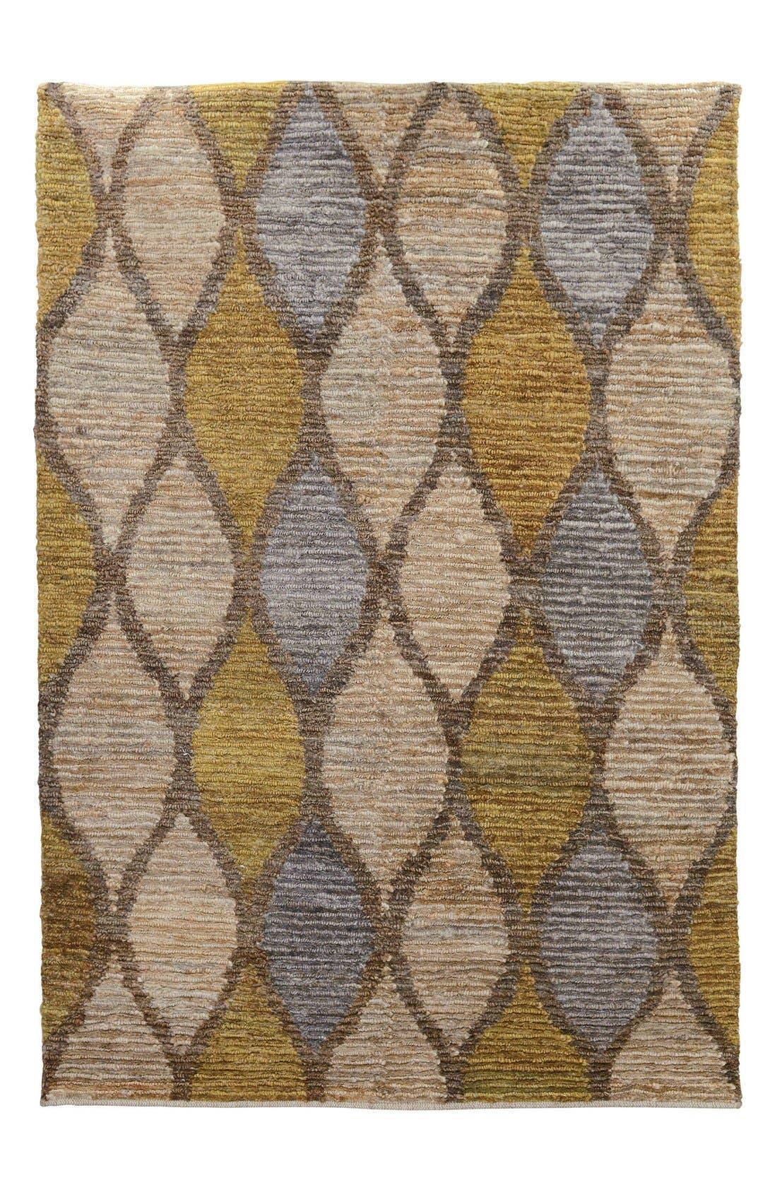 'Melbourne' Rug,                         Main,                         color, Brown/ Gold
