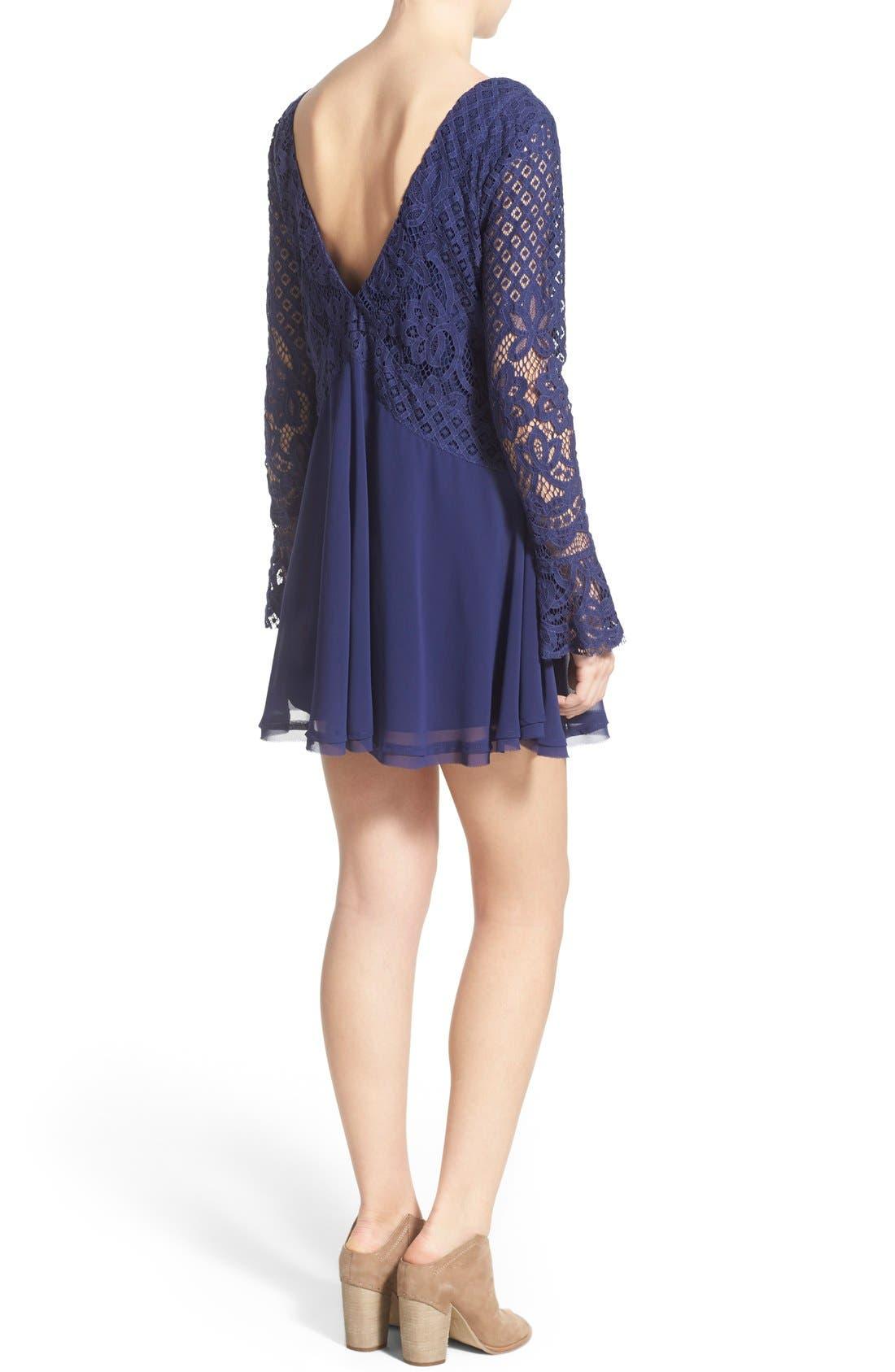 Alternate Image 2  - Tularosa 'Skylar' Bell Sleeve Minidress