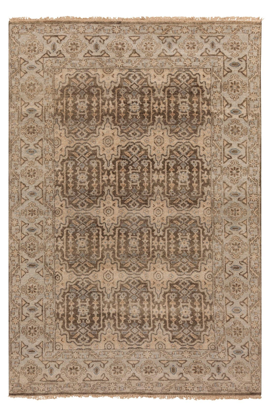 'Cheshire' Wool Rug,                         Main,                         color, Charcoal/ Blue Multi