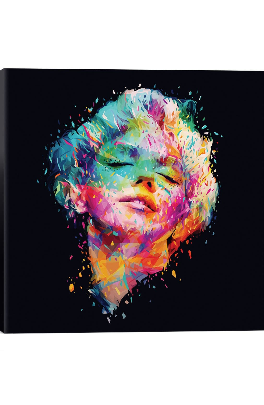 'Marilyn' Giclée Print Canvas Art,                             Main thumbnail 1, color,                             Black