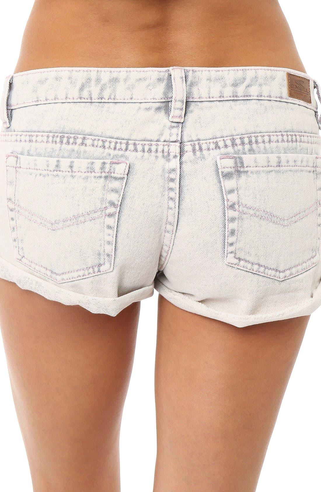 Alternate Image 3  - O'Neill 'Shyla' Denim Shorts