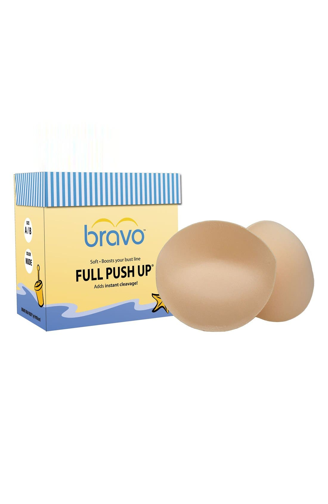 Bravo Full Coverage Push-Up Pads
