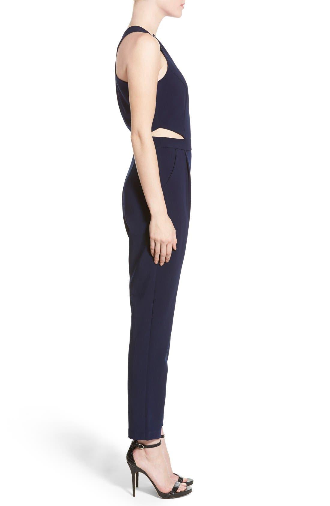 Alternate Image 3  - Adelyn Rae Cutout Jumpsuit