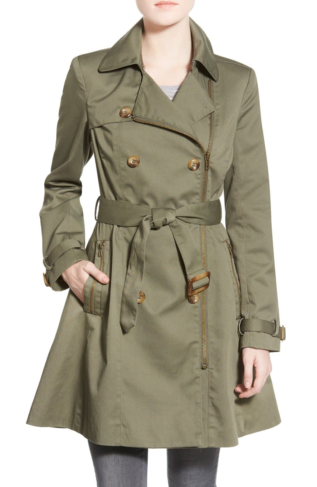 Alternate Image 1 Selected - Coffee Shop Trench Coat