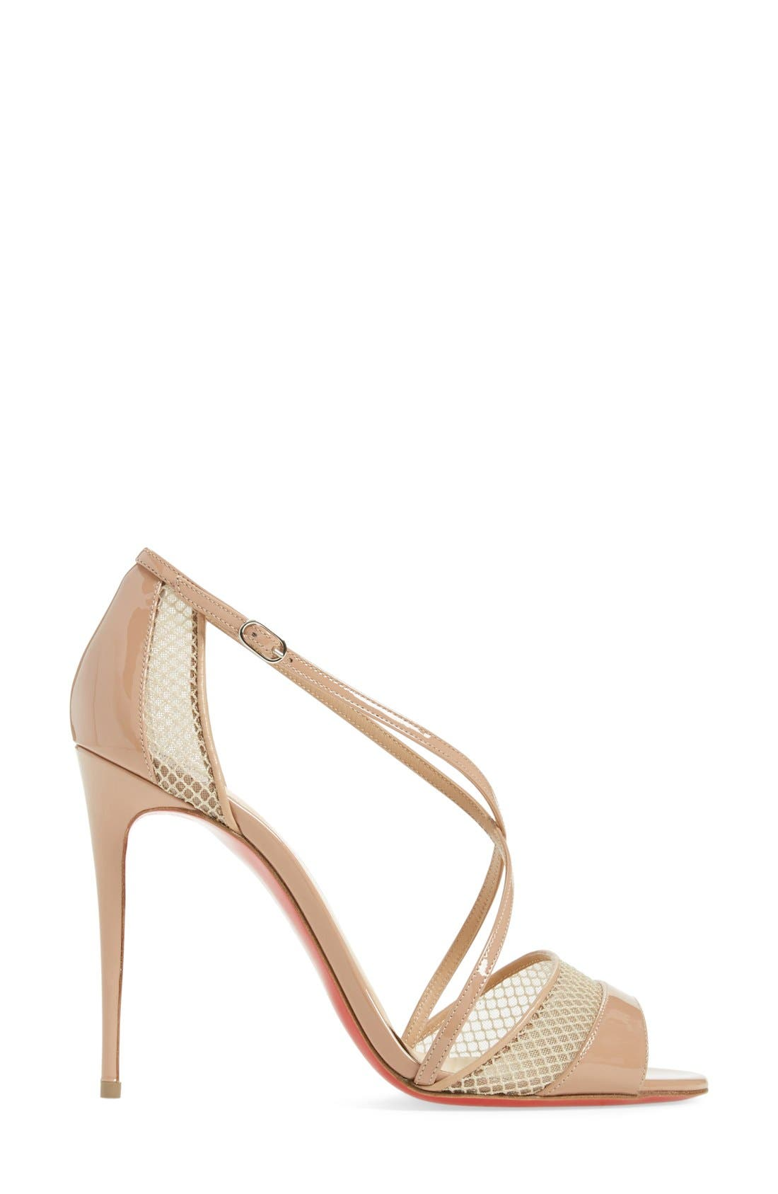 Alternate Image 4  - Christian Louboutin 'Slikova' Open Toe Sandal