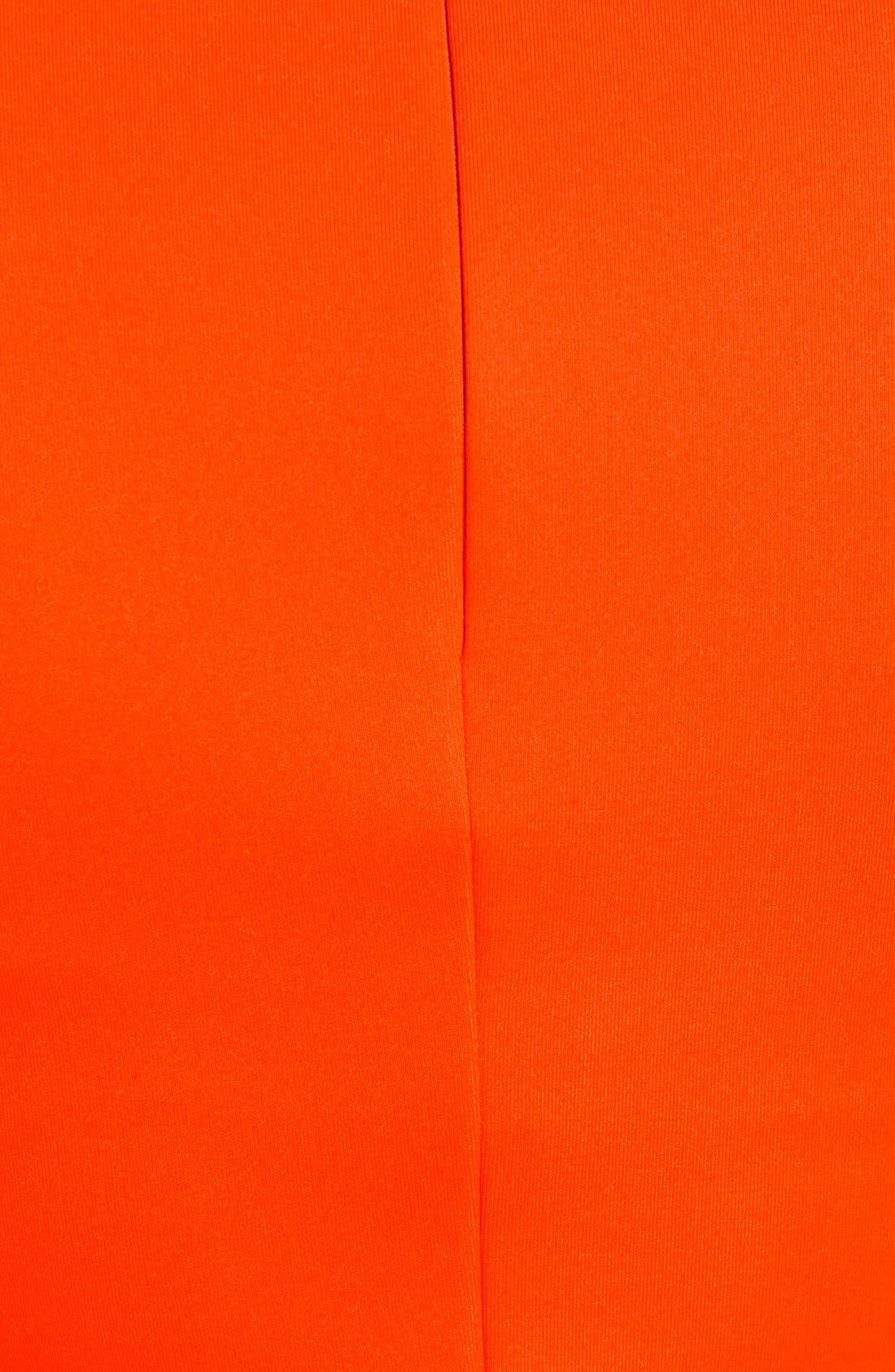 Alternate Image 5  - Vince Camuto Laser Cut Scuba Knit Top