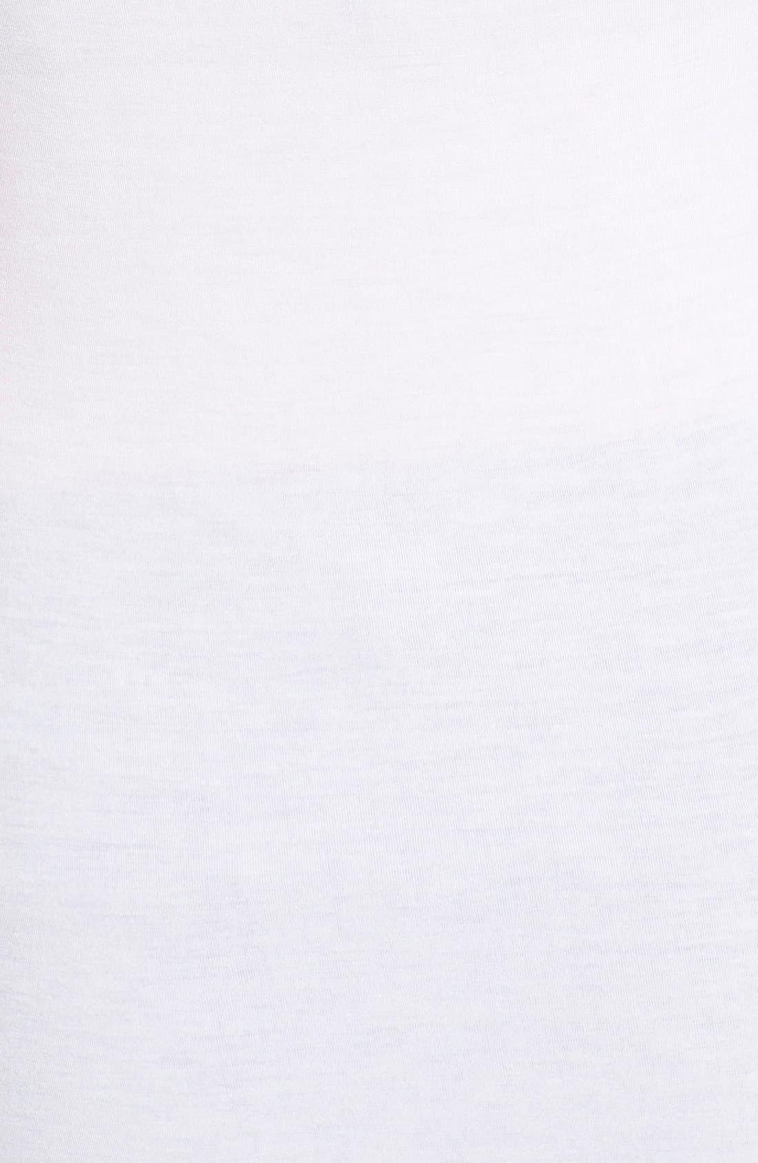'Deneuve' Cold Shoulder Top,                             Alternate thumbnail 5, color,                             White