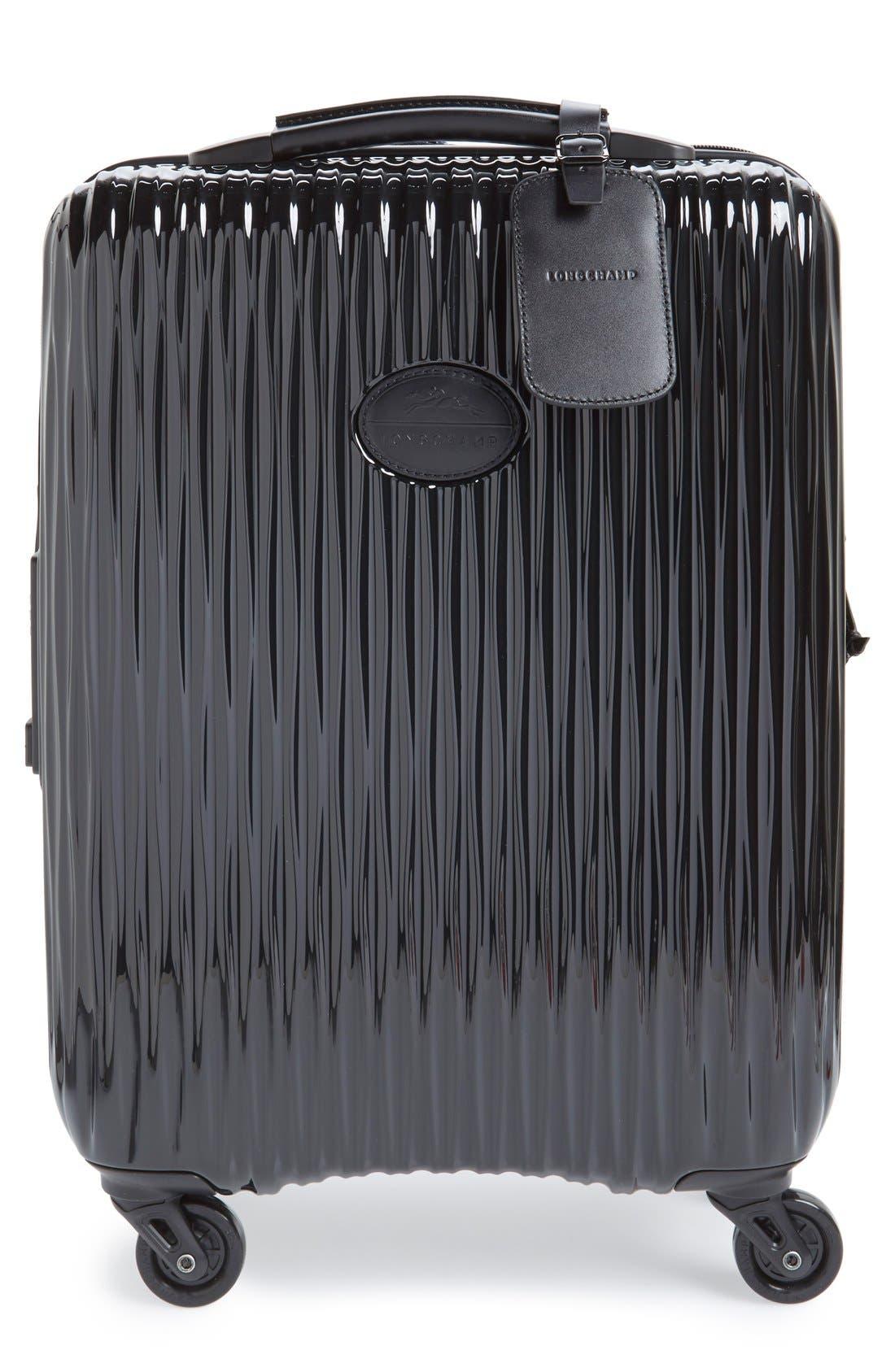 Longchamp 'Fairval' Four-Wheeled Hard Shell Suitcase (22 Inch)
