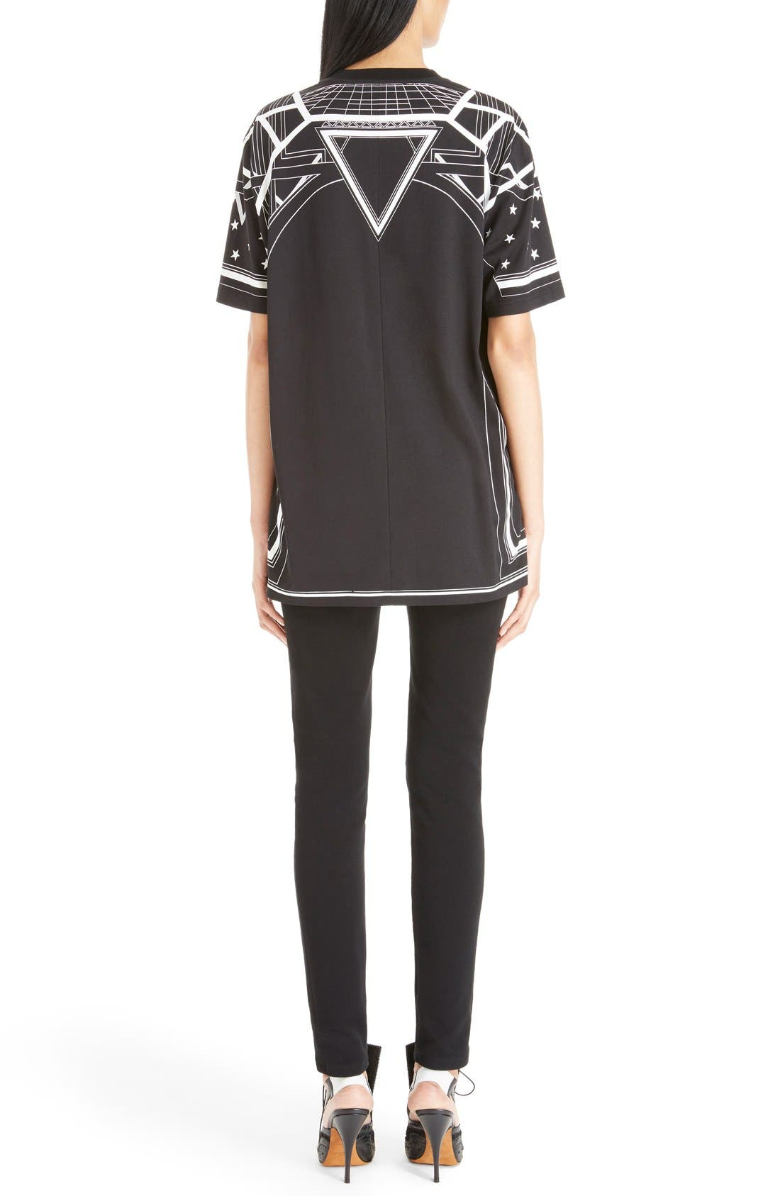 Alternate Image 2  - Givenchy Star & Abstract Print Cotton Tee