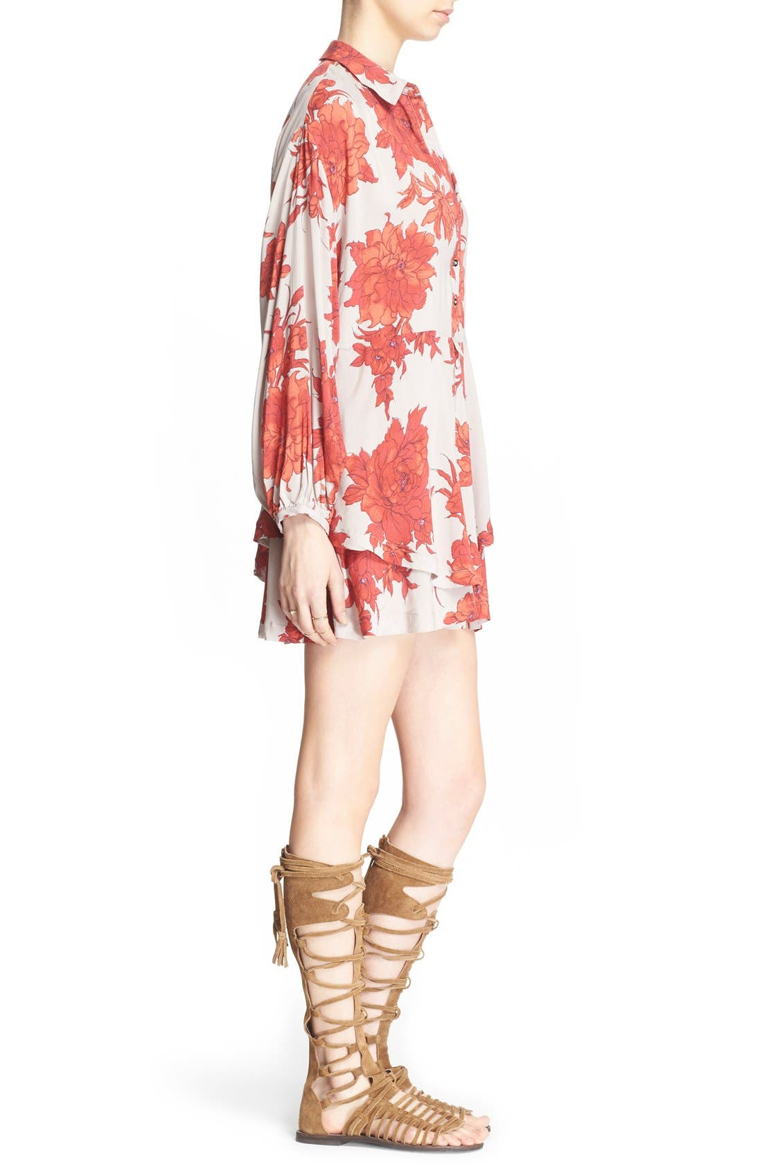 Alternate Image 3  - Free People 'Shake It' Printed Tunic