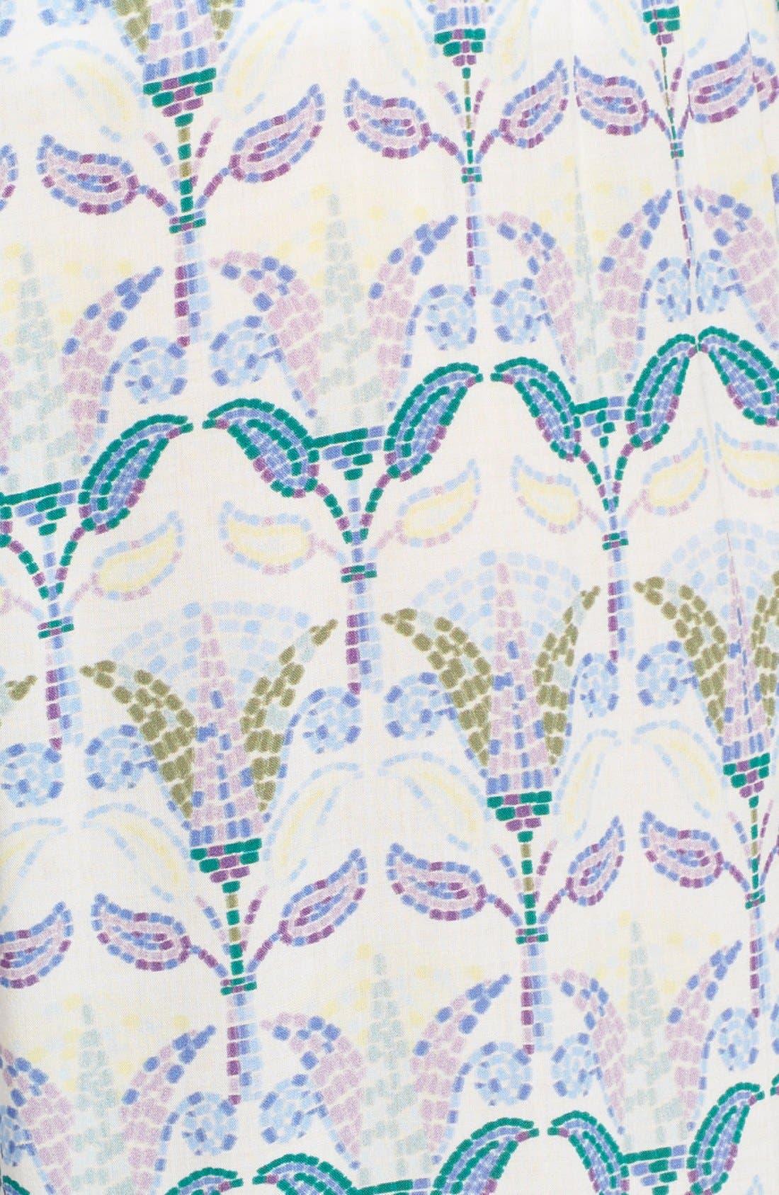 Alternate Image 5  - Tory Burch 'Mosaic' Print Beach Pants