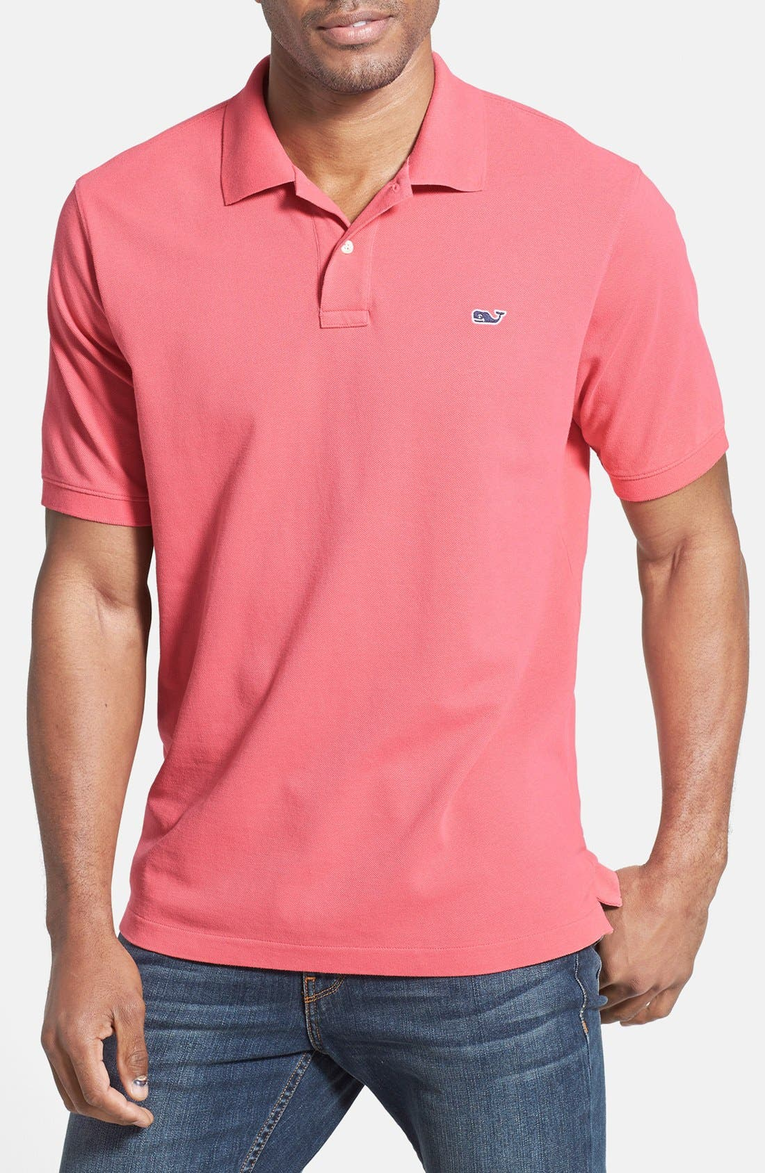 Vineyard Vines 'Classic' Piqué Knit Polo