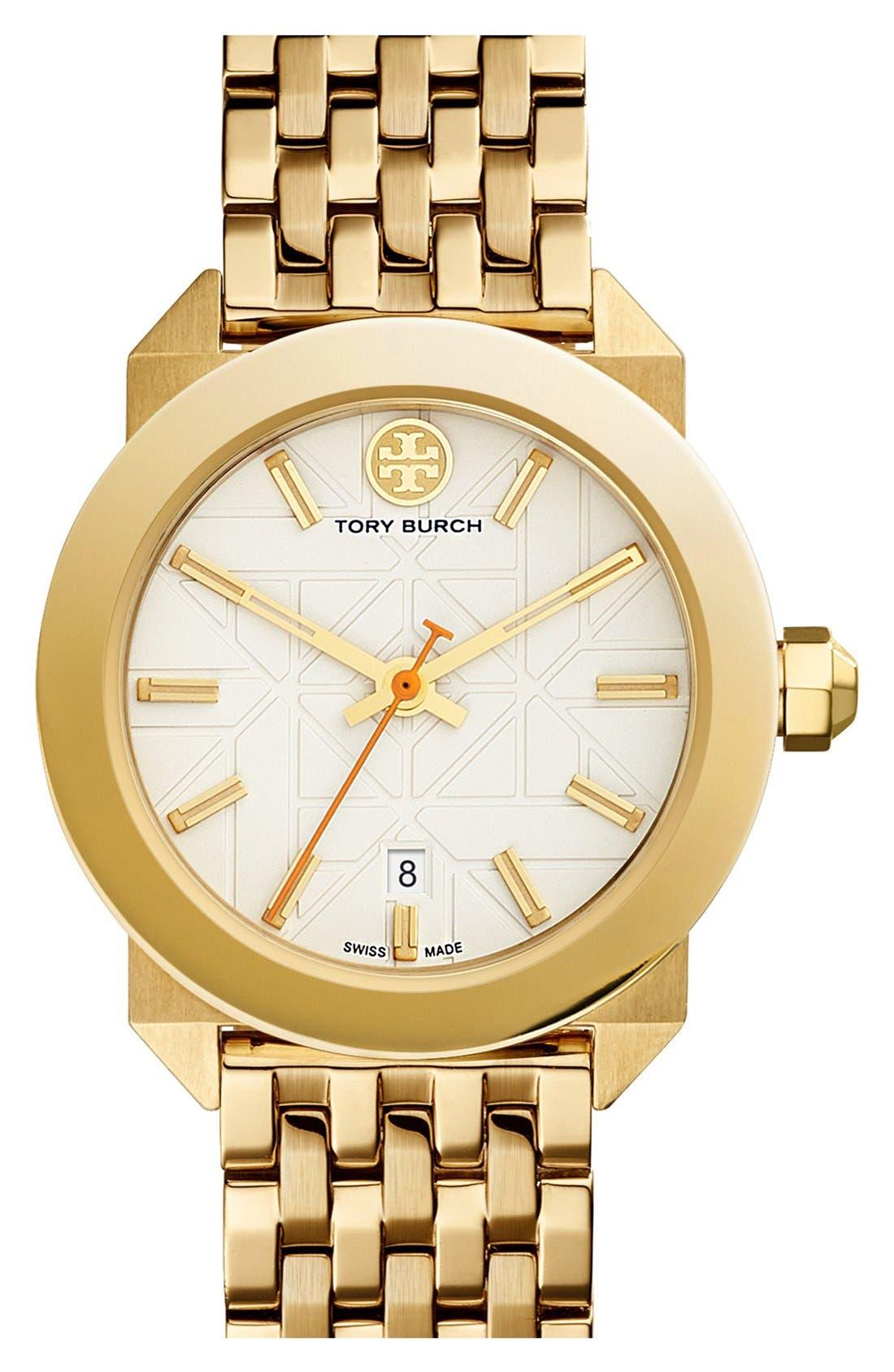 Main Image - Tory Burch 'Whitney' Bracelet Watch, 35mm