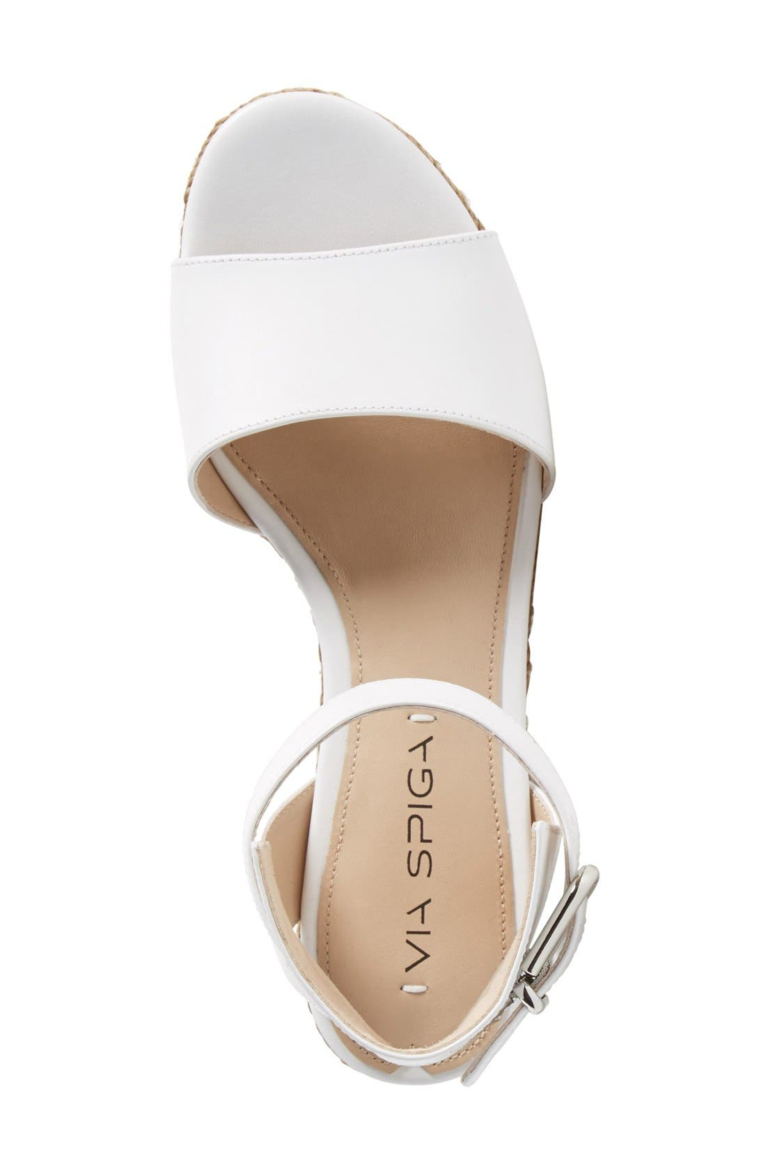 Alternate Image 3  - Via Spiga 'Nemy' Platform Sandal (Women)