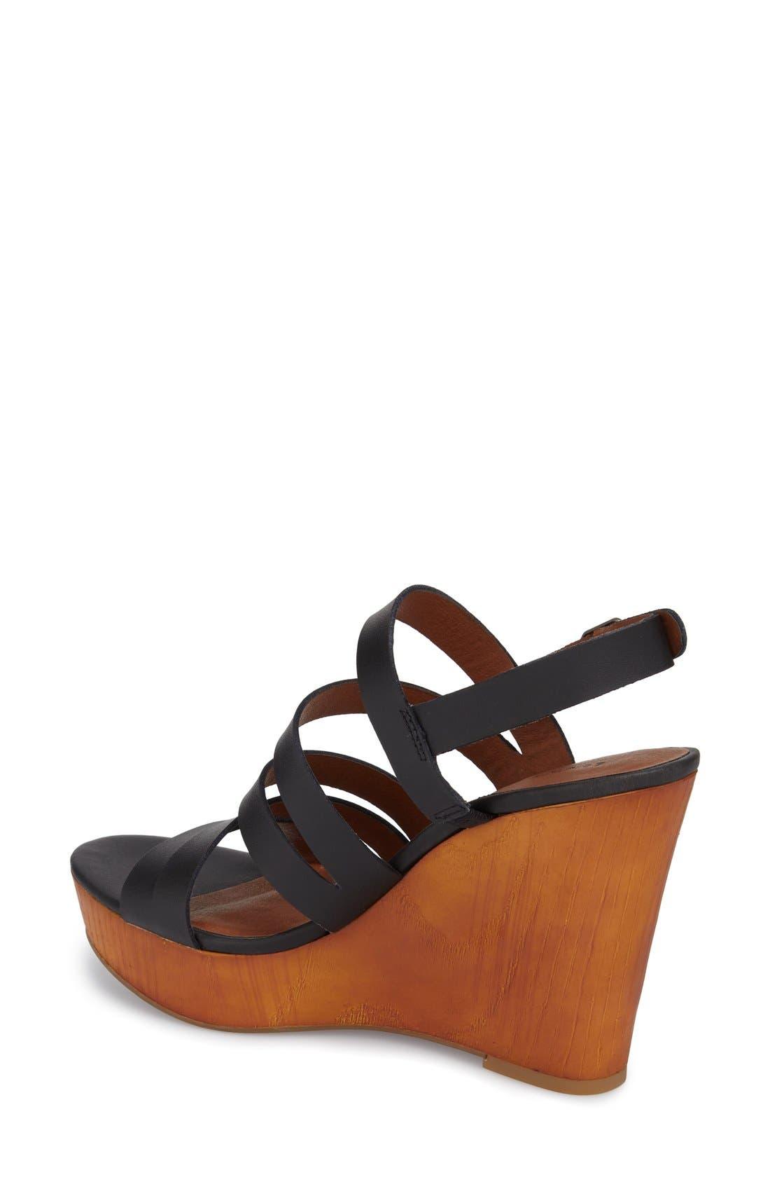 Alternate Image 2  - Lucky Brand 'Larinaa' Wedge Sandal (Women)