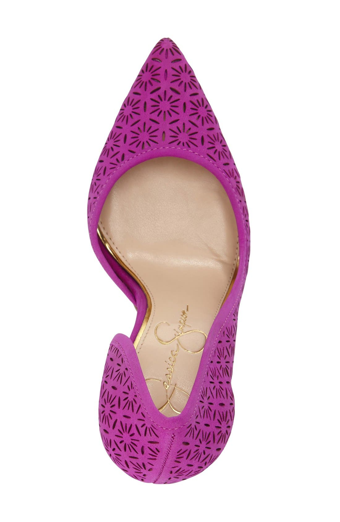 Alternate Image 3  - Jessica Simpson 'Claudette' Half d'Orsay Pump