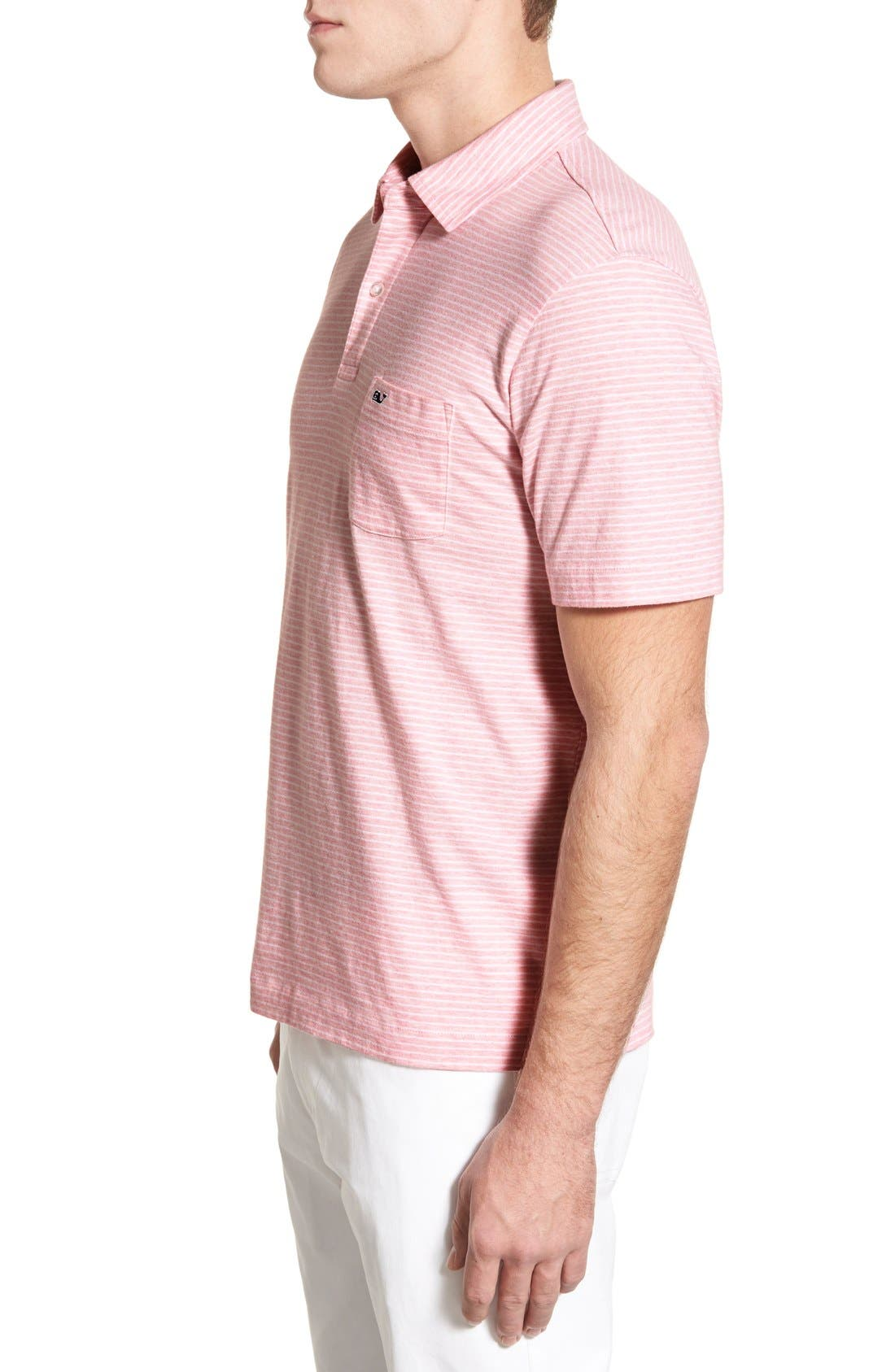 Alternate Image 3  - Vineyard Vines 'Feeder Stripe' Pima Cotton Polo
