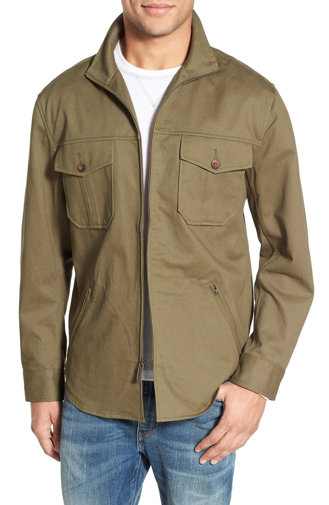 Pendleton Twill Shirt Jacket | Nordstrom