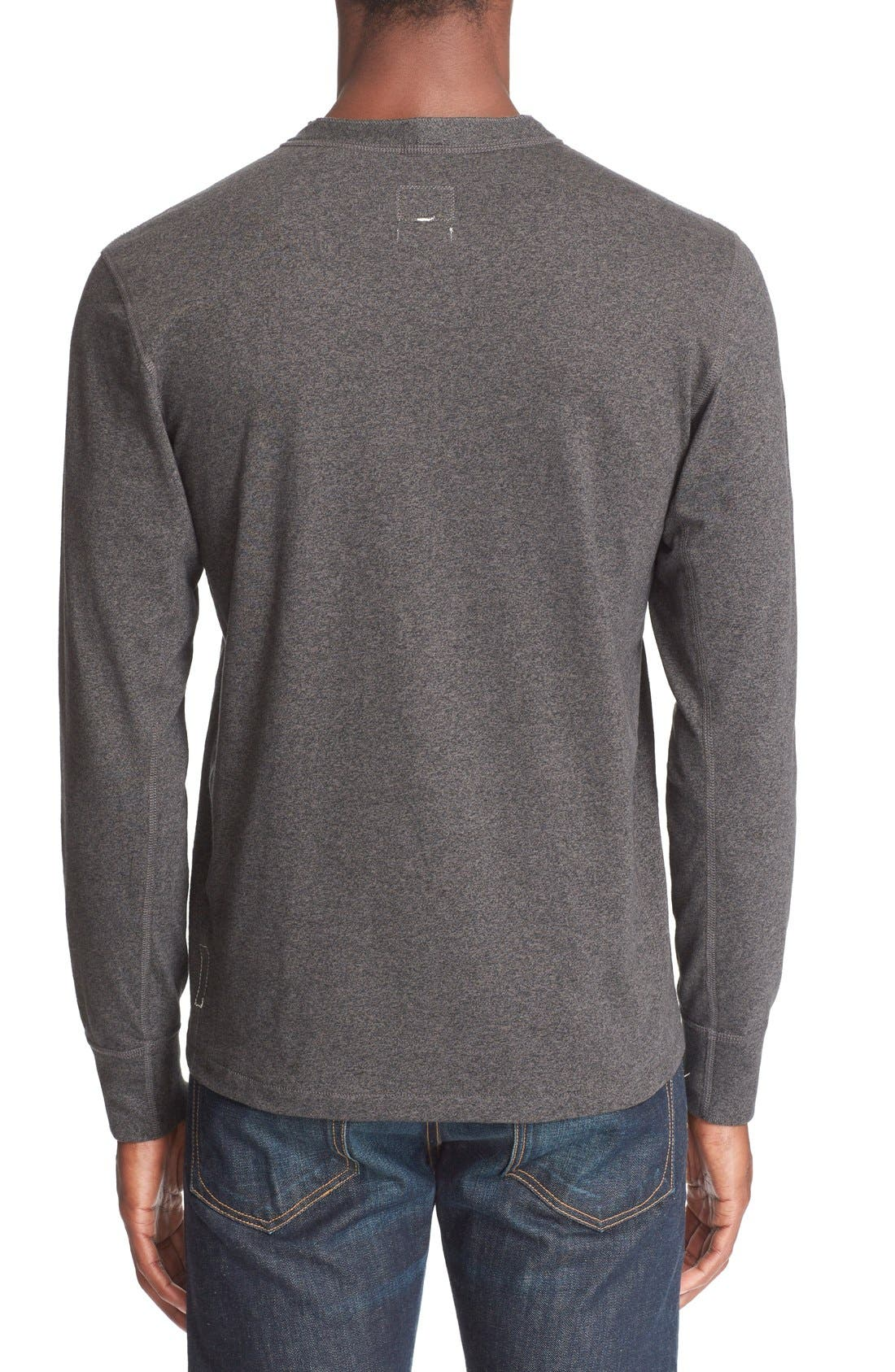 Standard Issue Henley,                             Alternate thumbnail 2, color,                             Pewter