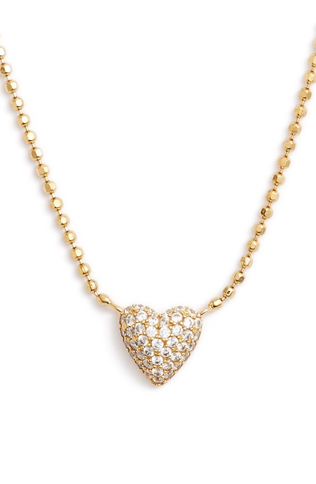 Main Image - Nadri 'Valentine's Day' Heart Pendant Necklace
