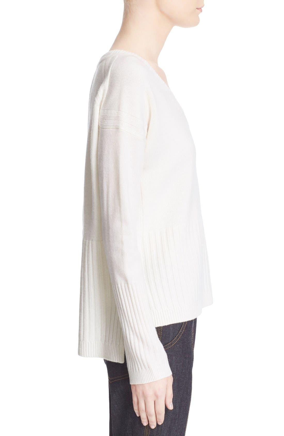 Alternate Image 3  - Derek Lam 10 Crosby V-Neck Cashmere Sweater