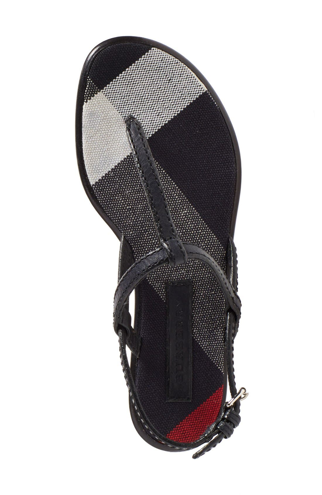 Alternate Image 3  - Burberry 'Ingeldew' T-Strap Sandal (Women)
