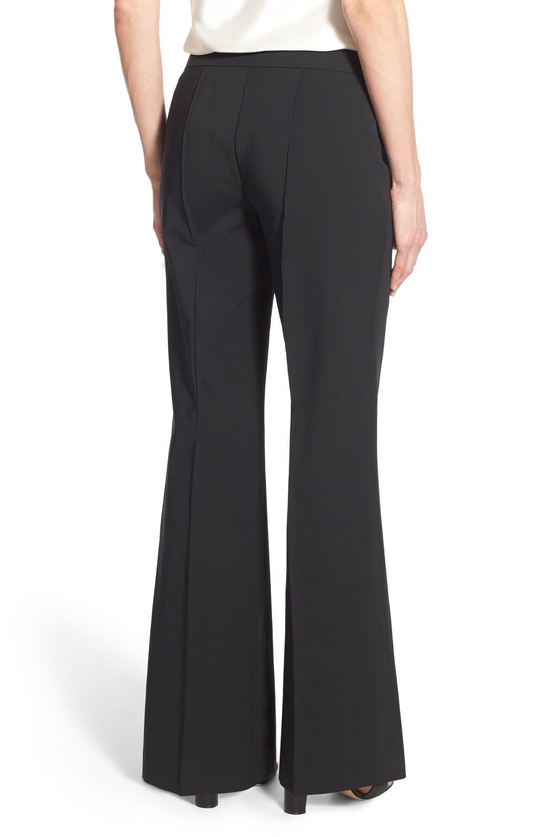 Alternate Image 3  - Lafayette 148 New York 'Kenmare' Flare Leg Pants