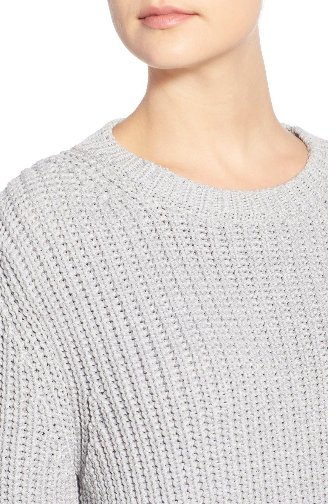Alternate Image 4  - Barbour 'Clove Hitch' Crewneck Sweater