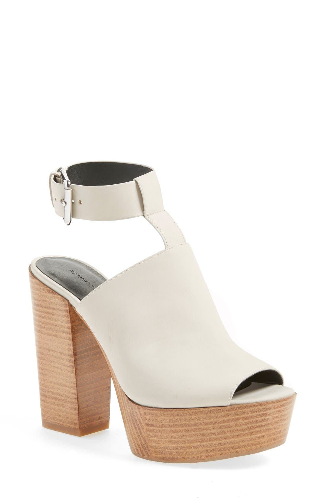 Alternate Image 1 Selected - Rebecca Minkoff 'Cece' Platform Sandal (Women)