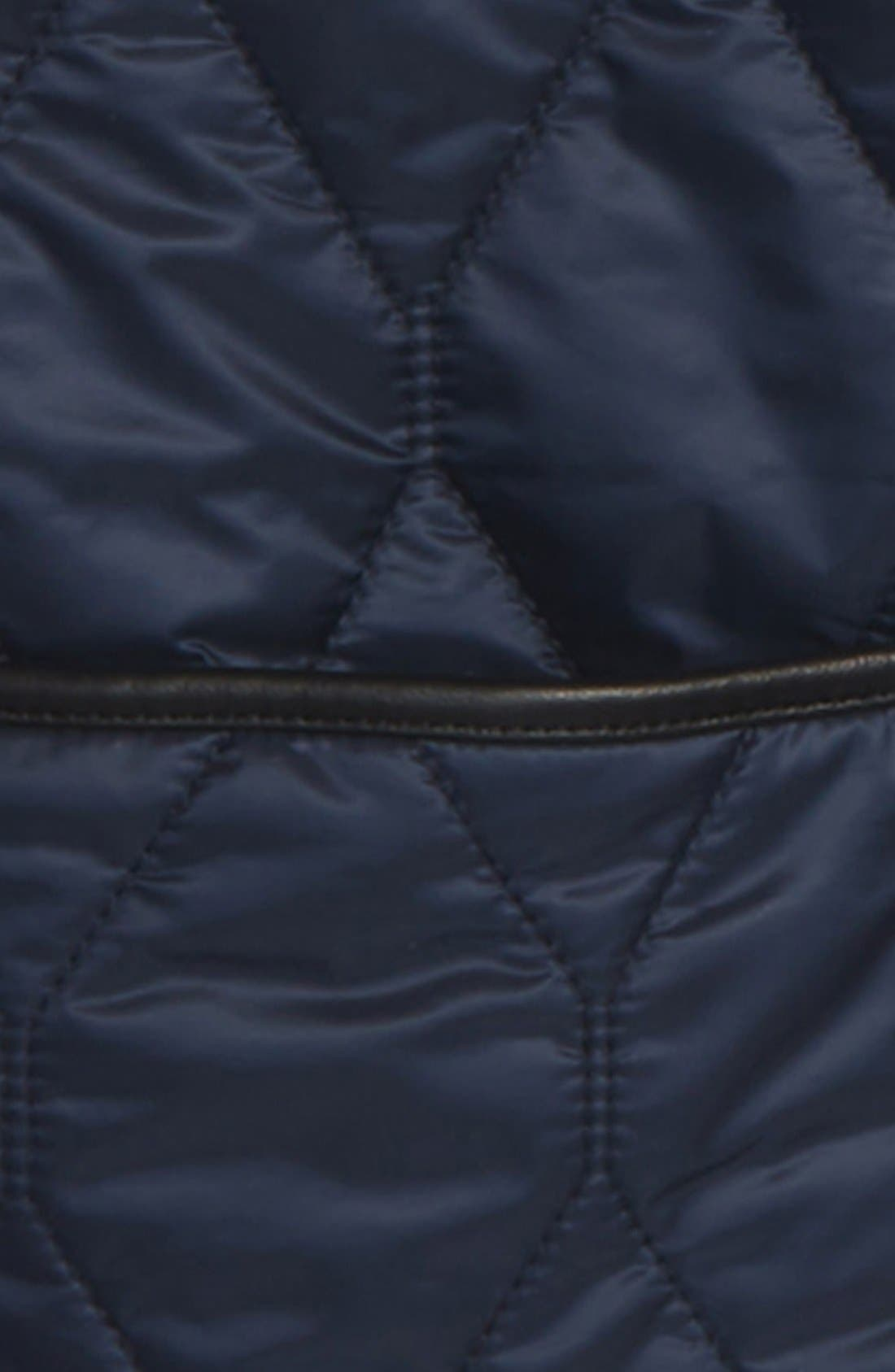 Alternate Image 5  - Burberry Gillington Water Resistant Quilted Jacket