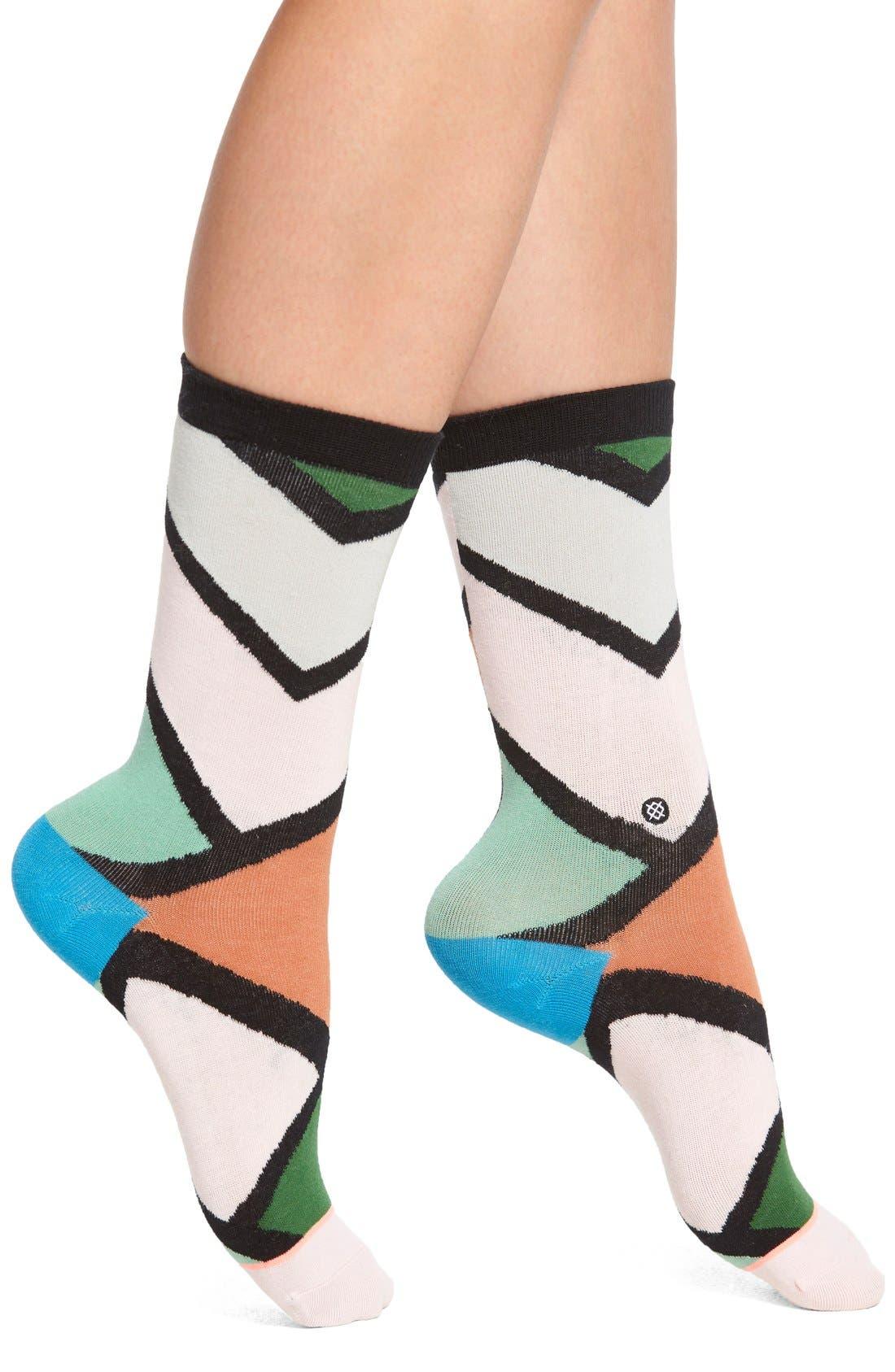 Alternate Image 1 Selected - Stance 'Steezy' Crew Socks