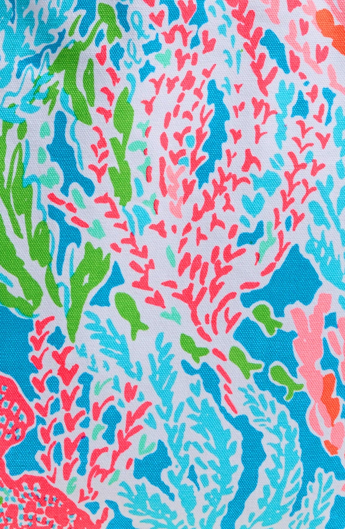 Alternate Image 7  - Lilly Pulitzer® Canvas Beach Tote