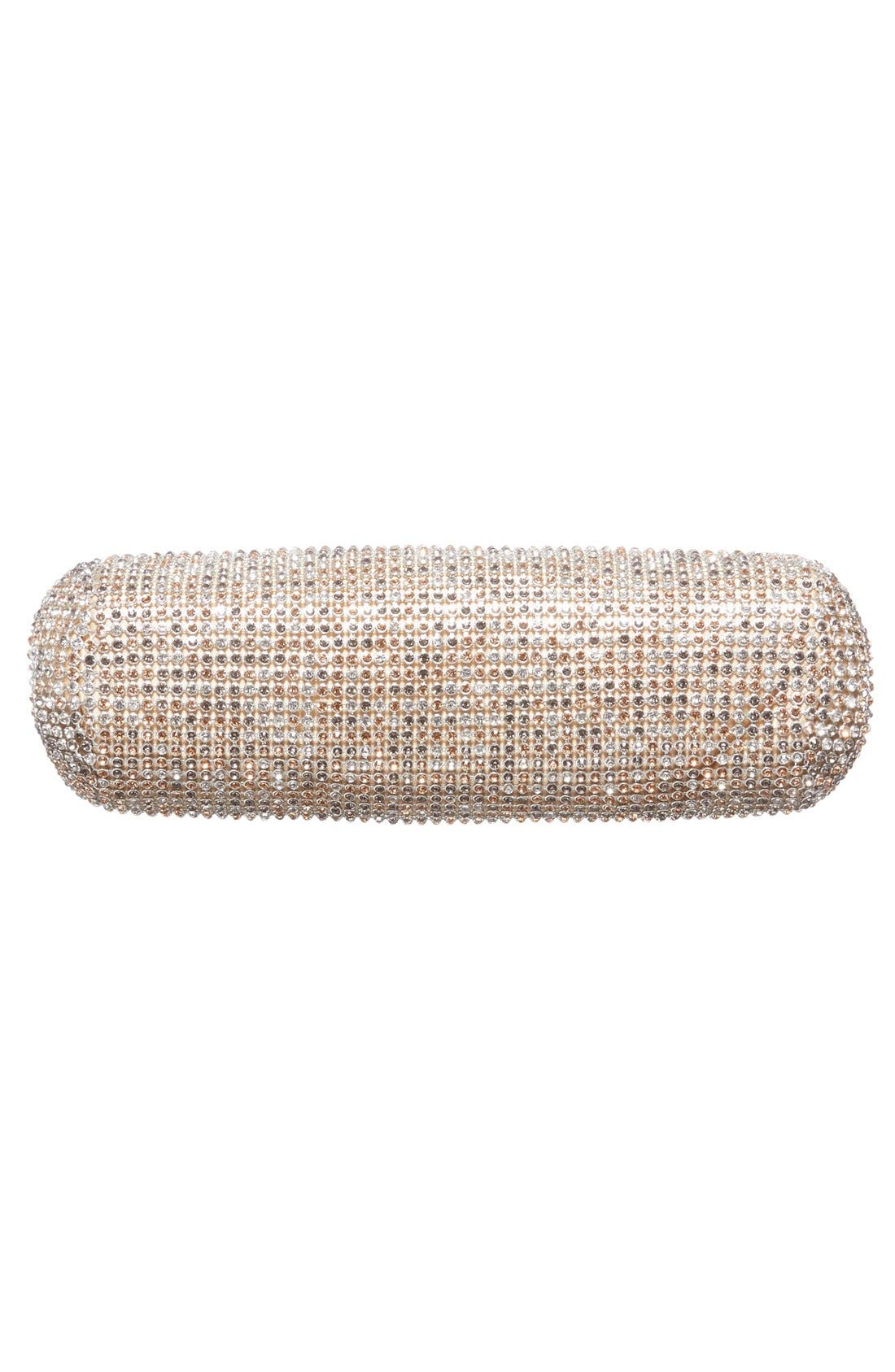 Alternate Image 6  - Glint Crystal Mesh Clutch