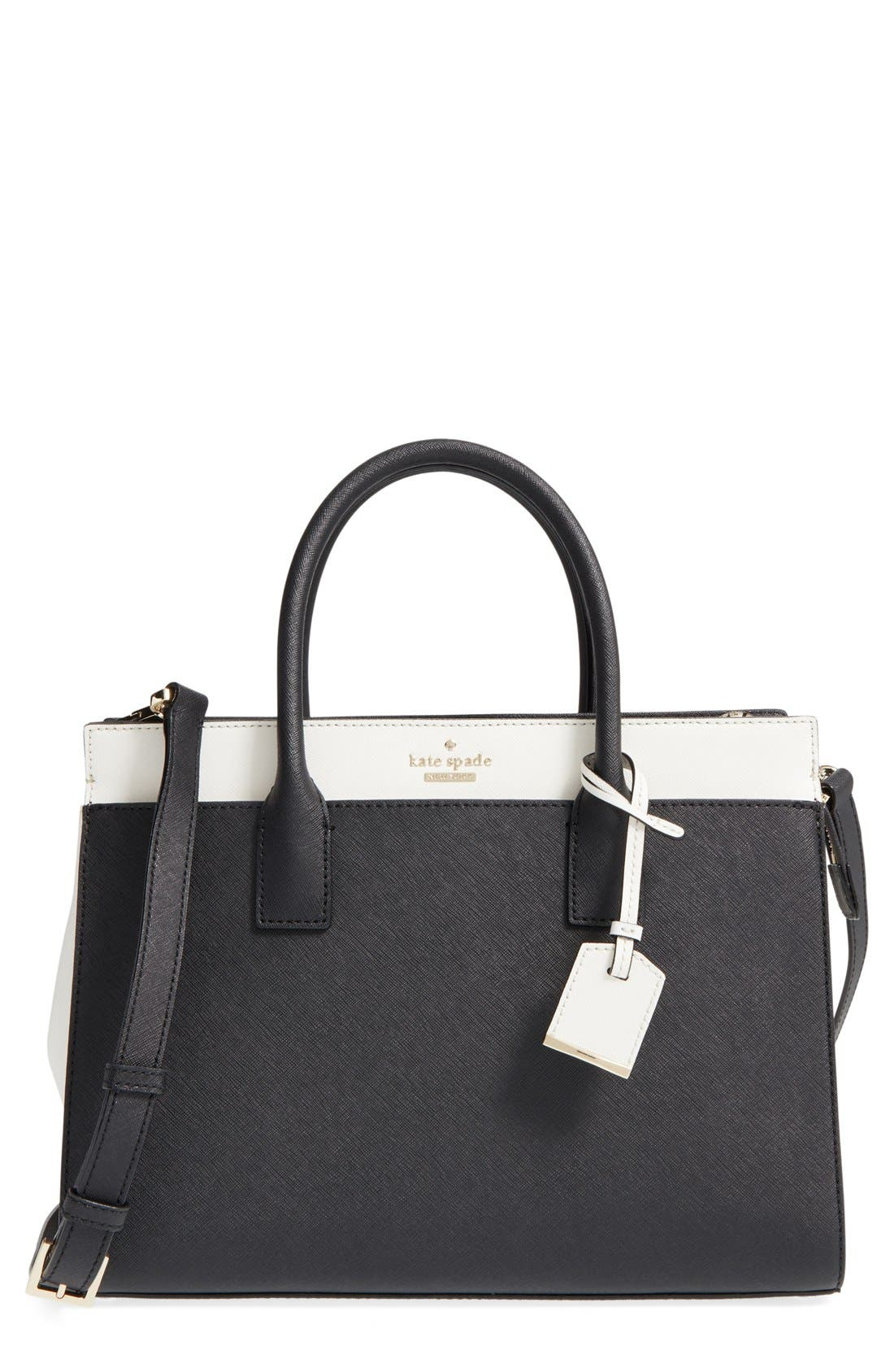 Main Image - kate spade new york cameron street - candace leather satchel
