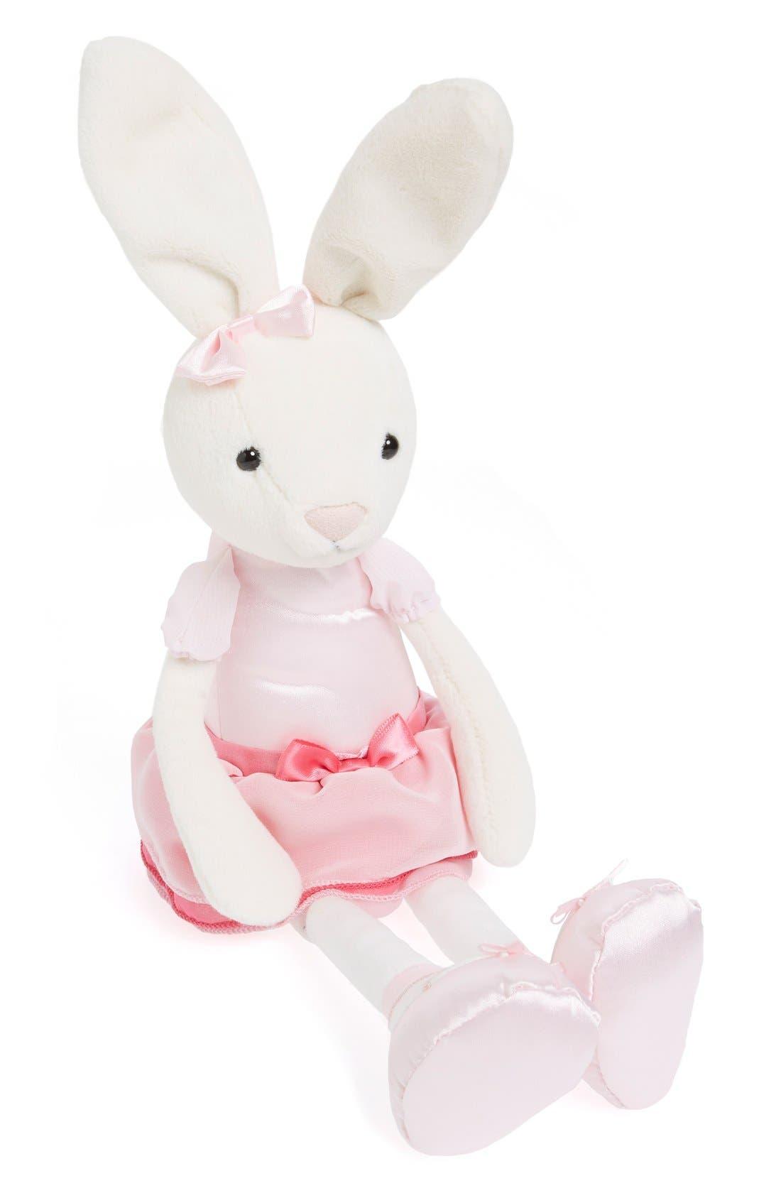 'Bitsy Ballerina Bunny' Stuffed Animal,                             Main thumbnail 1, color,                             Pink/ Cream