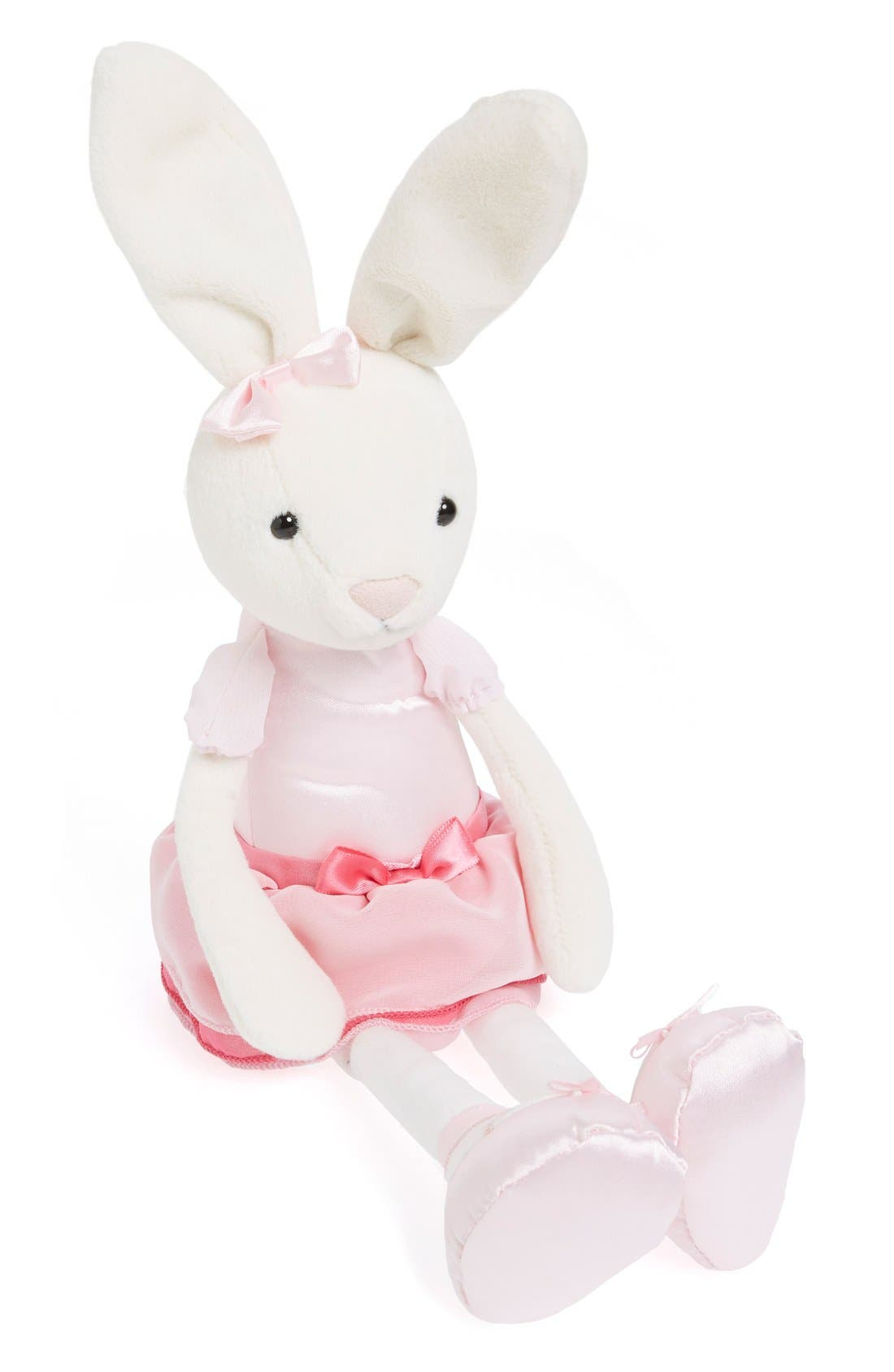 'Bitsy Ballerina Bunny' Stuffed Animal,                         Main,                         color, Pink/ Cream