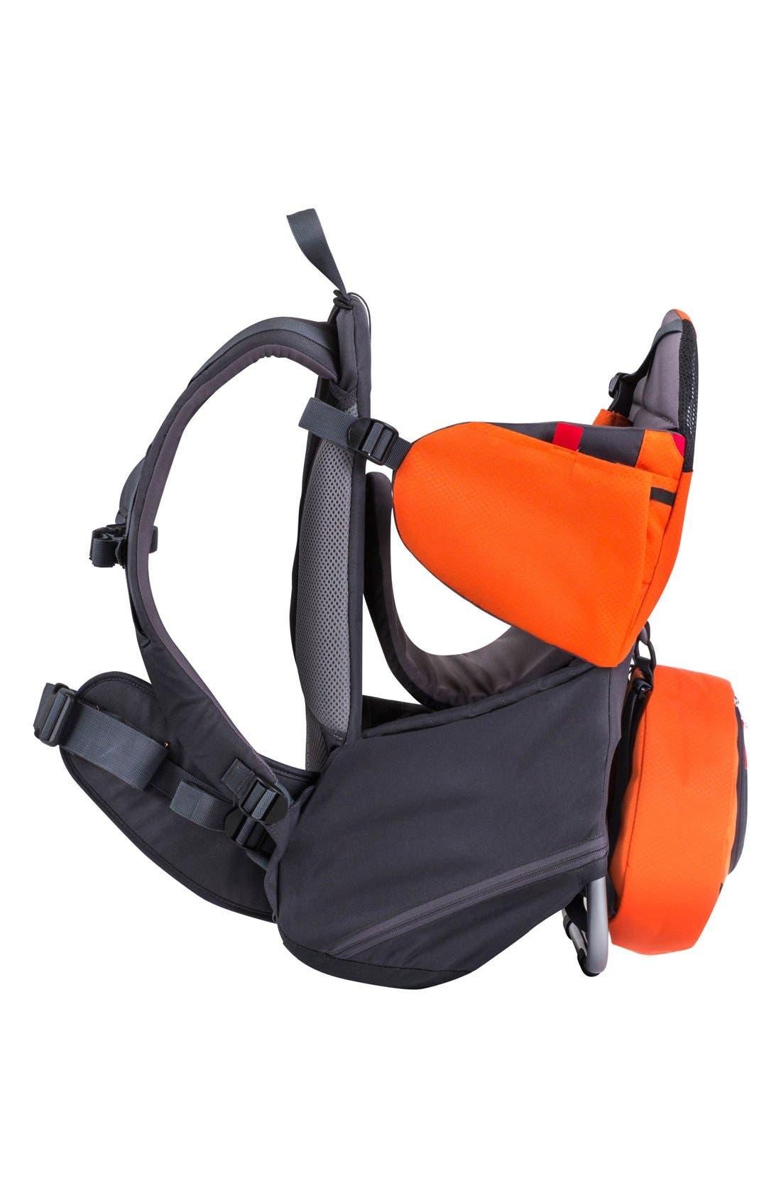 'Parade' Backpack Carrier,                             Alternate thumbnail 4, color,                             Orange/ Grey
