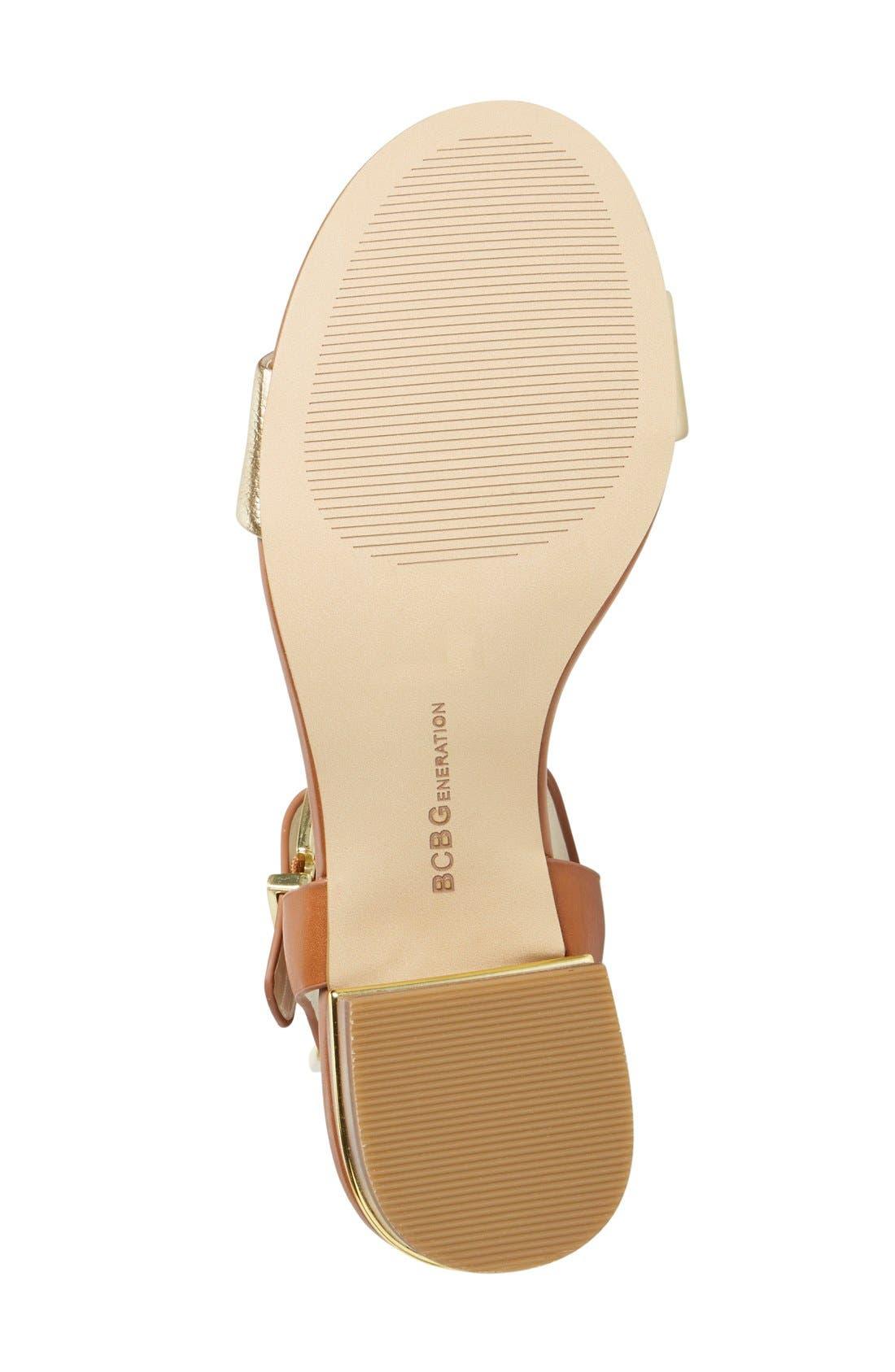 Alternate Image 4  - BCBGeneration 'Roger' Block Heel Sandal (Women)