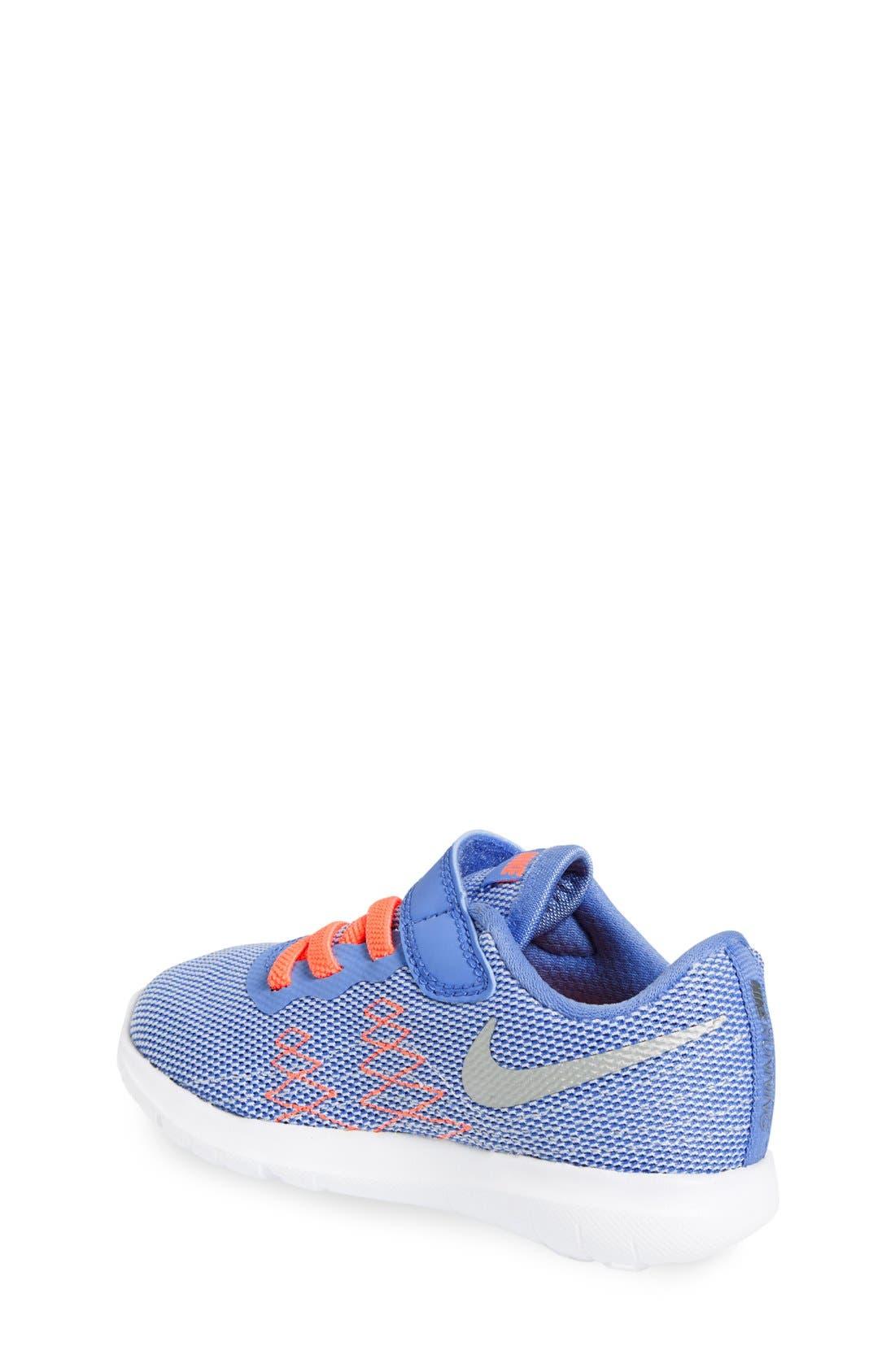 Alternate Image 2  - Nike Flex Fury 2 Athletic Shoe (Baby, Walker & Toddler)