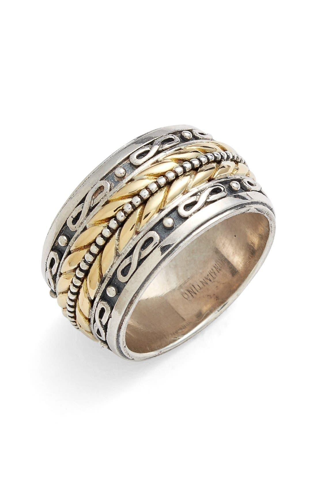 Main Image - Konstantino 'Orpheus' Etched Band Ring
