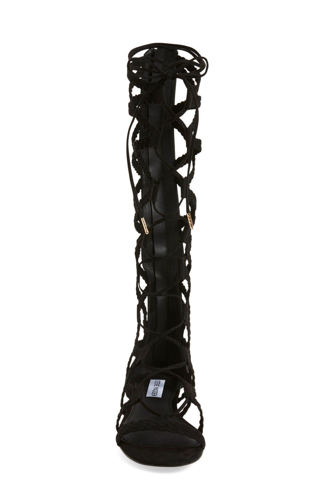 Alternate Image 3  - Steve Madden 'Sammson' Lace-Up Gladiator Sandal (Women)