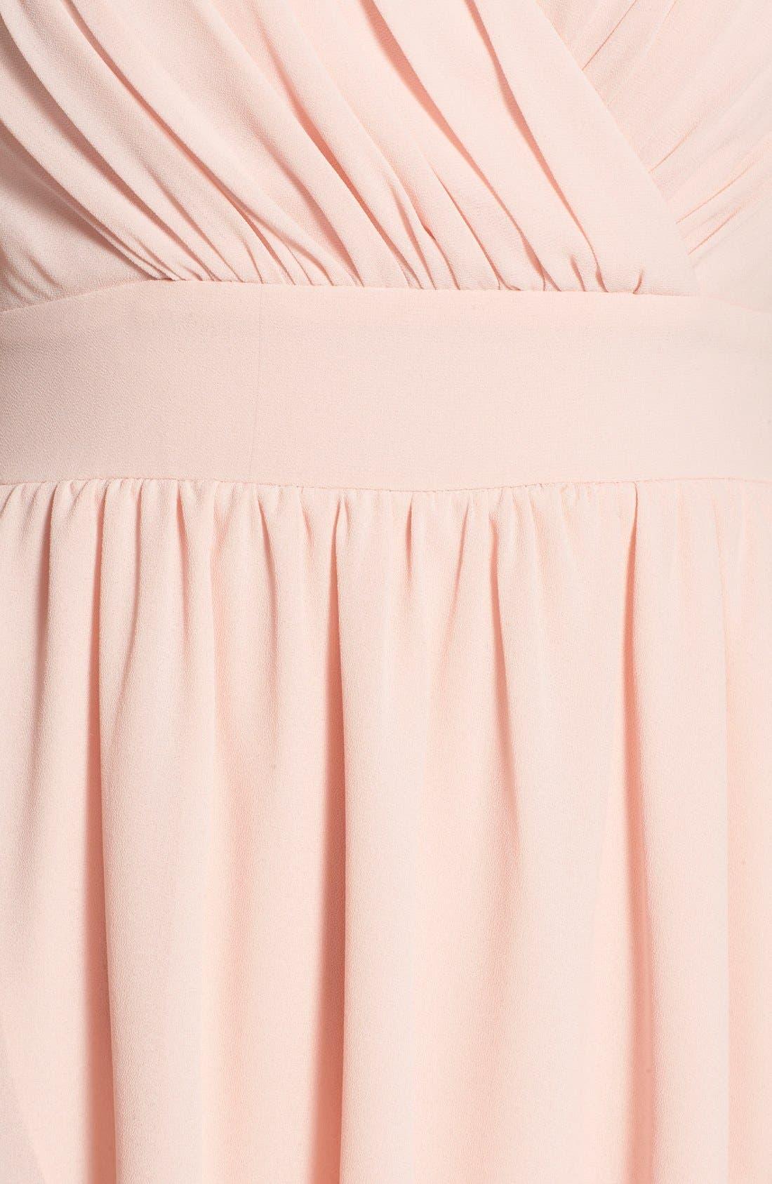 Alternate Image 5  - TFNC 'Hadie' High/Low Ruched Dress