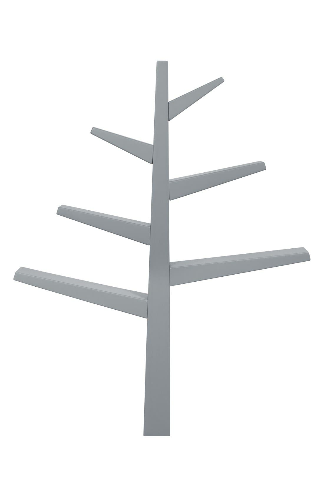 'Spruce Tree' Bookcase,                             Main thumbnail 1, color,                             Grey