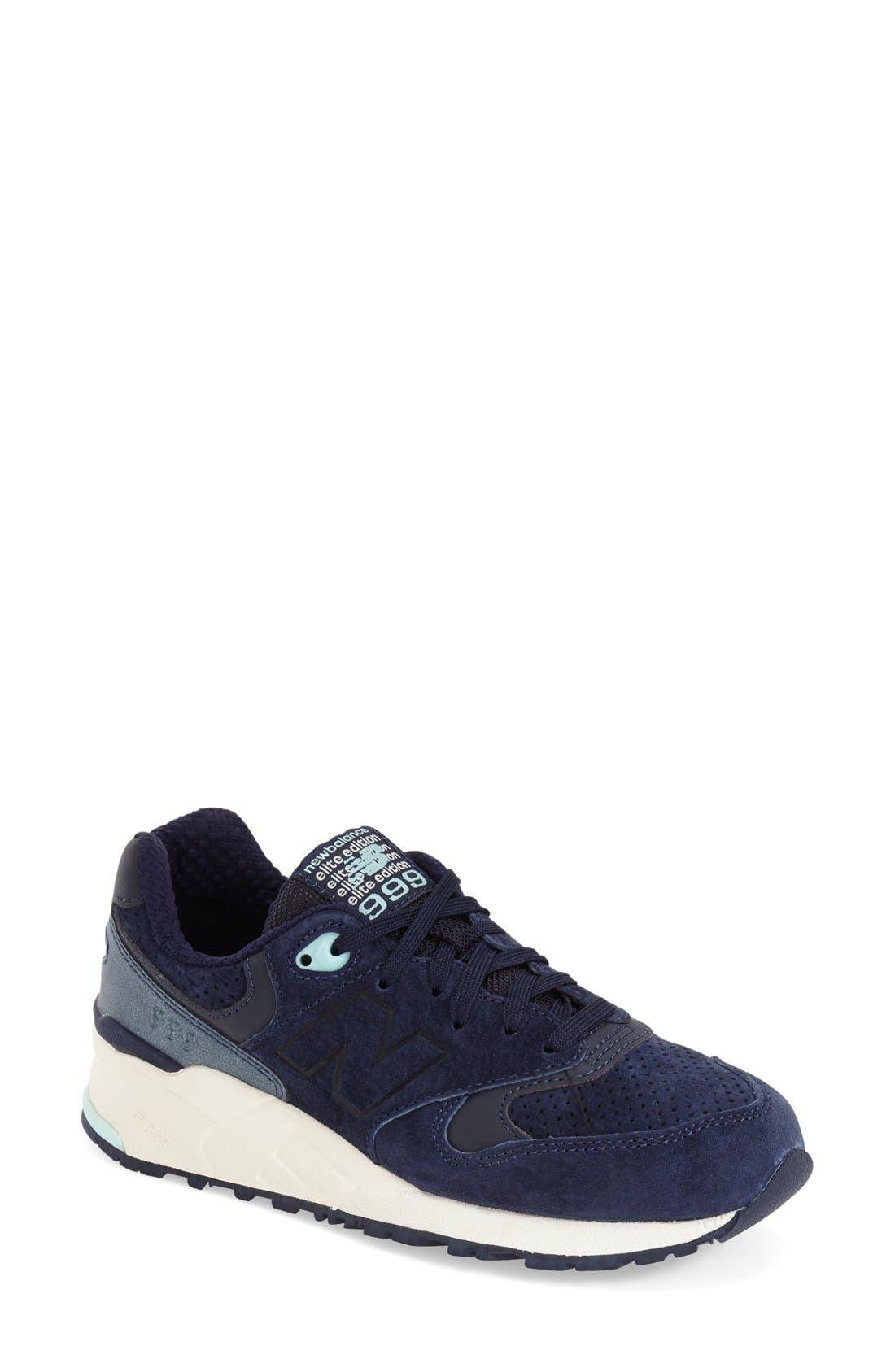 Alternate Image 1 Selected - New Balance '999' Sneaker (Women)