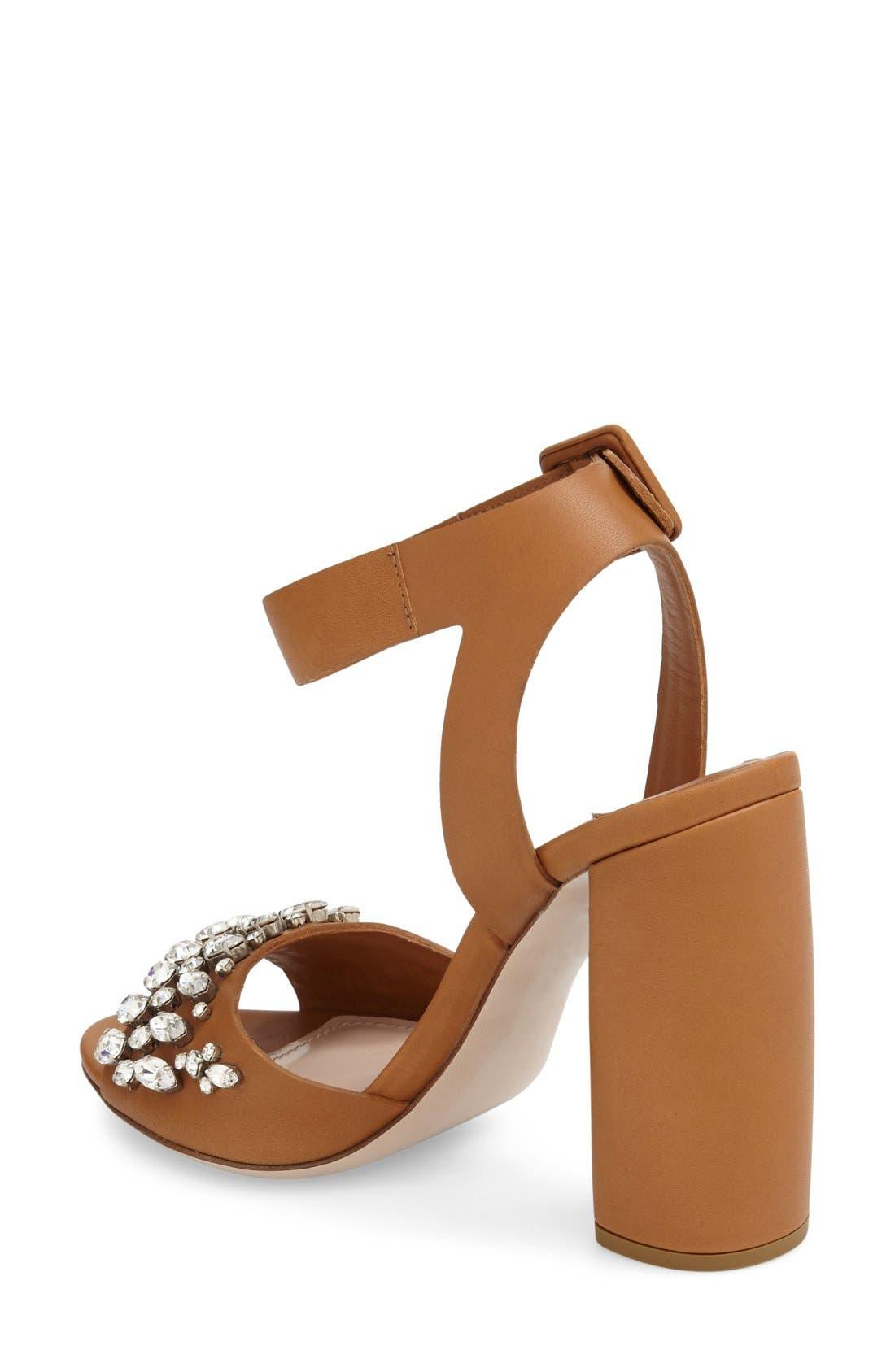 Alternate Image 2  - Miu Miu 'Jewel' Sandal (Women)